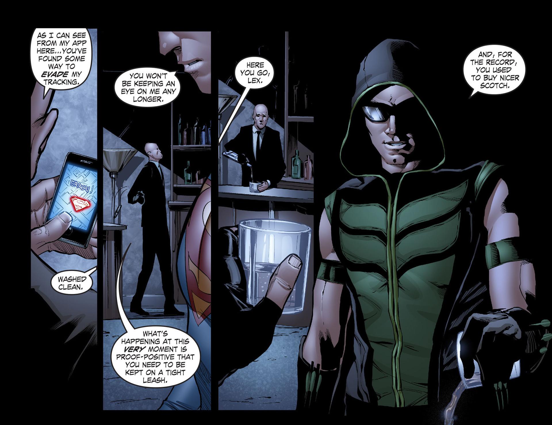 Read online Smallville: Season 11 comic -  Issue #40 - 9
