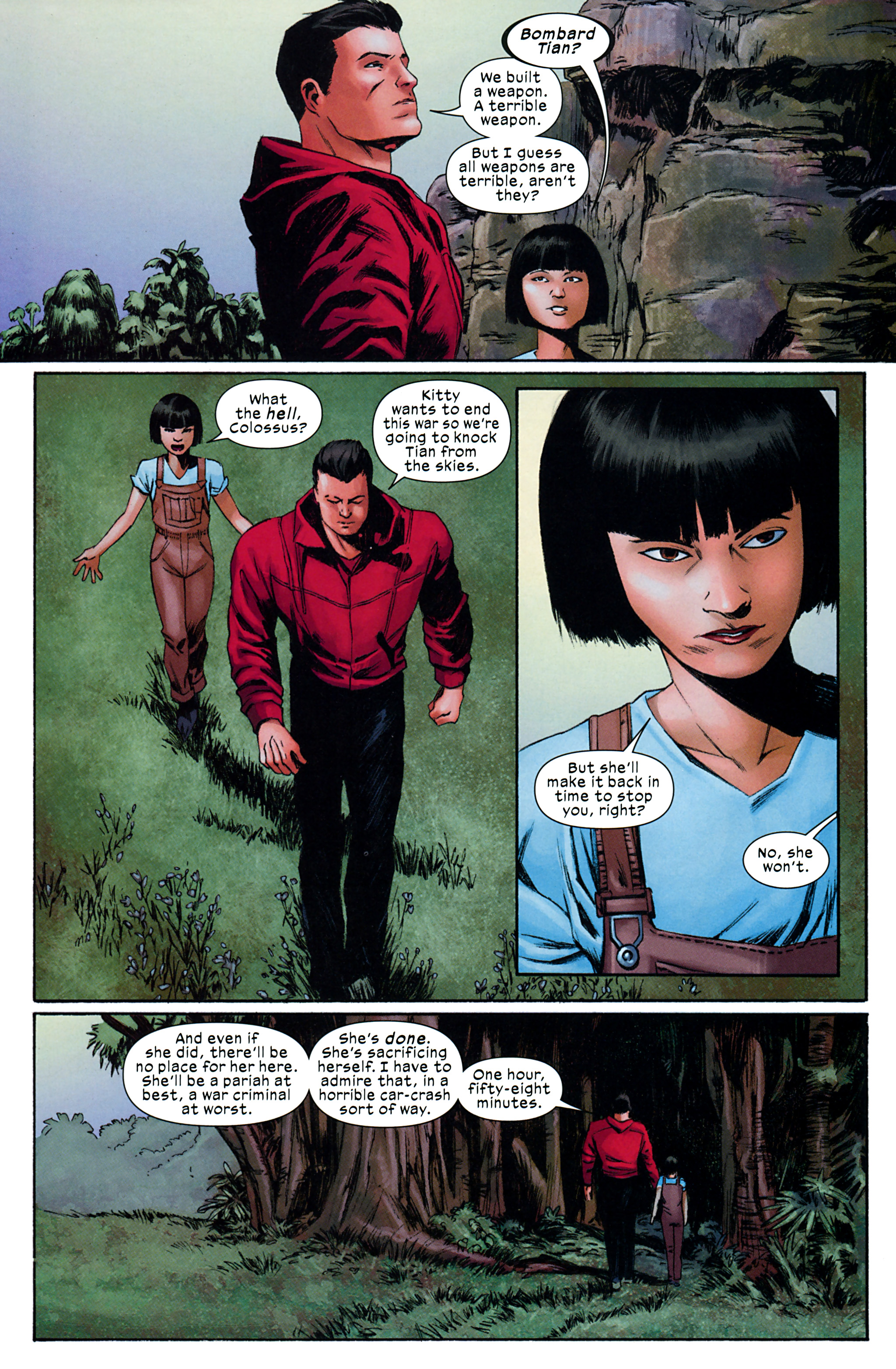 Read online Ultimate Comics X-Men comic -  Issue #32 - 21