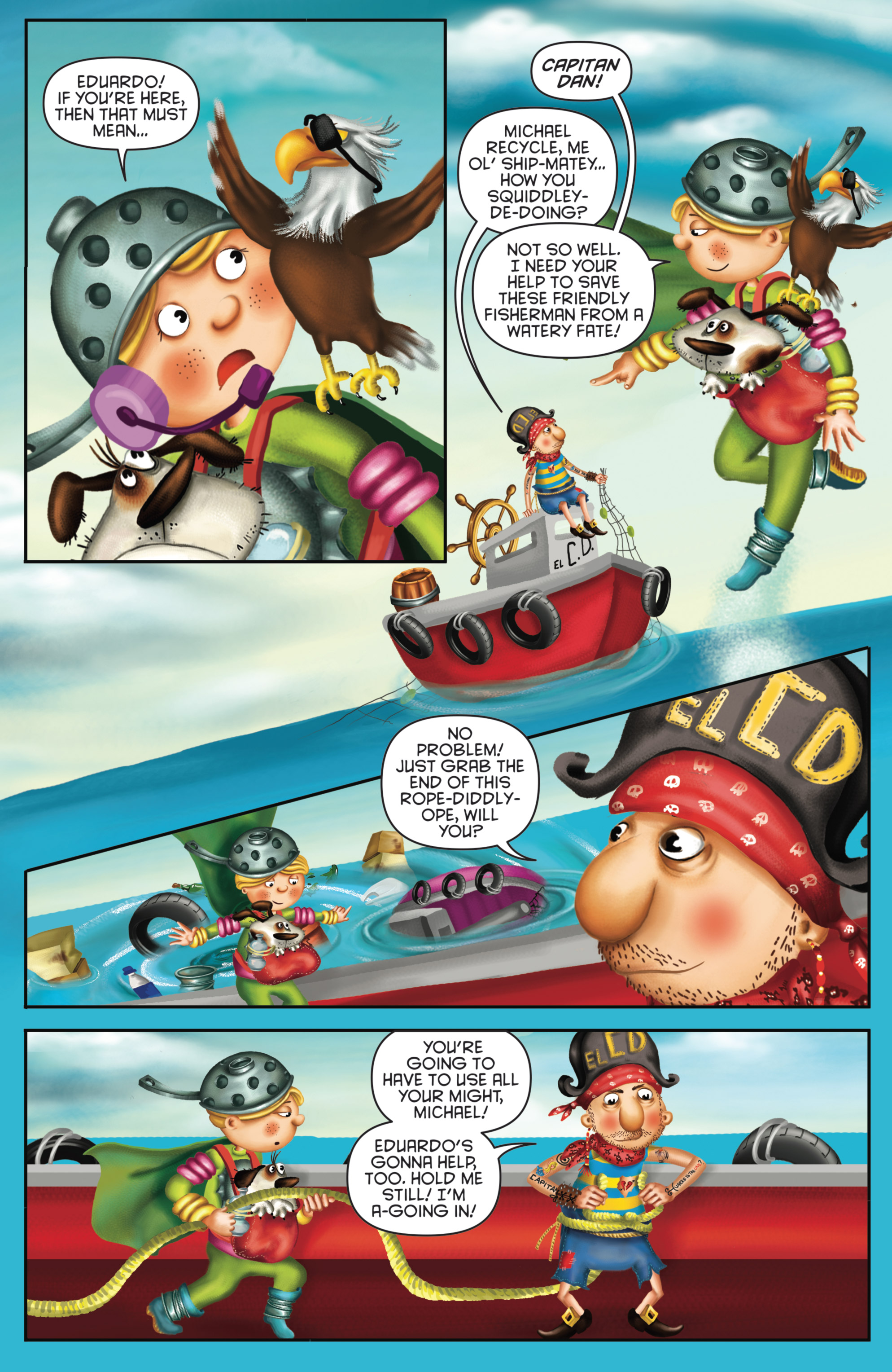 Read online Michael Recycle comic -  Issue #4 - 12