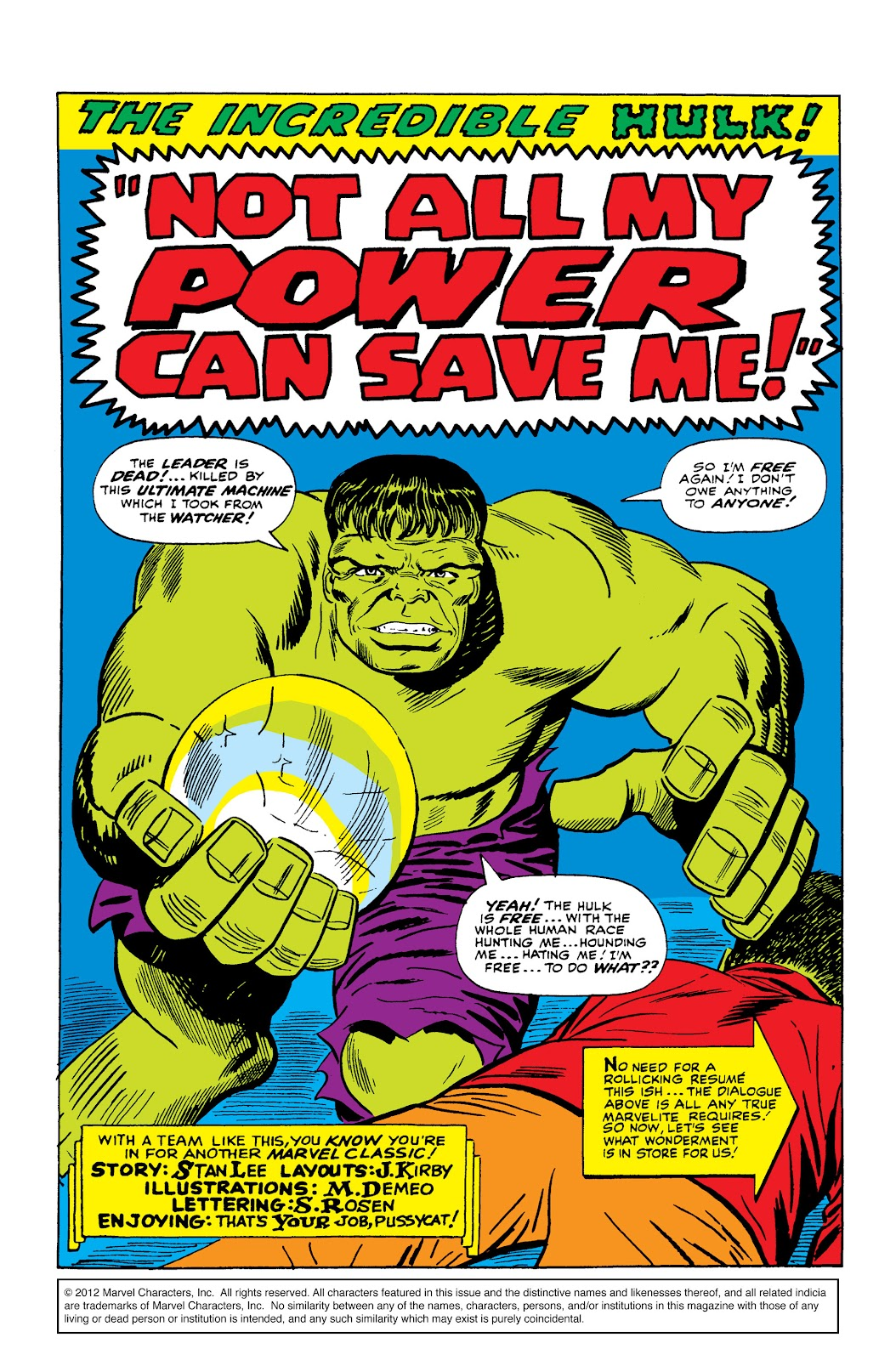 Read online Marvel Masterworks: The Incredible Hulk comic -  Issue # TPB 2 (Part 2) - 90