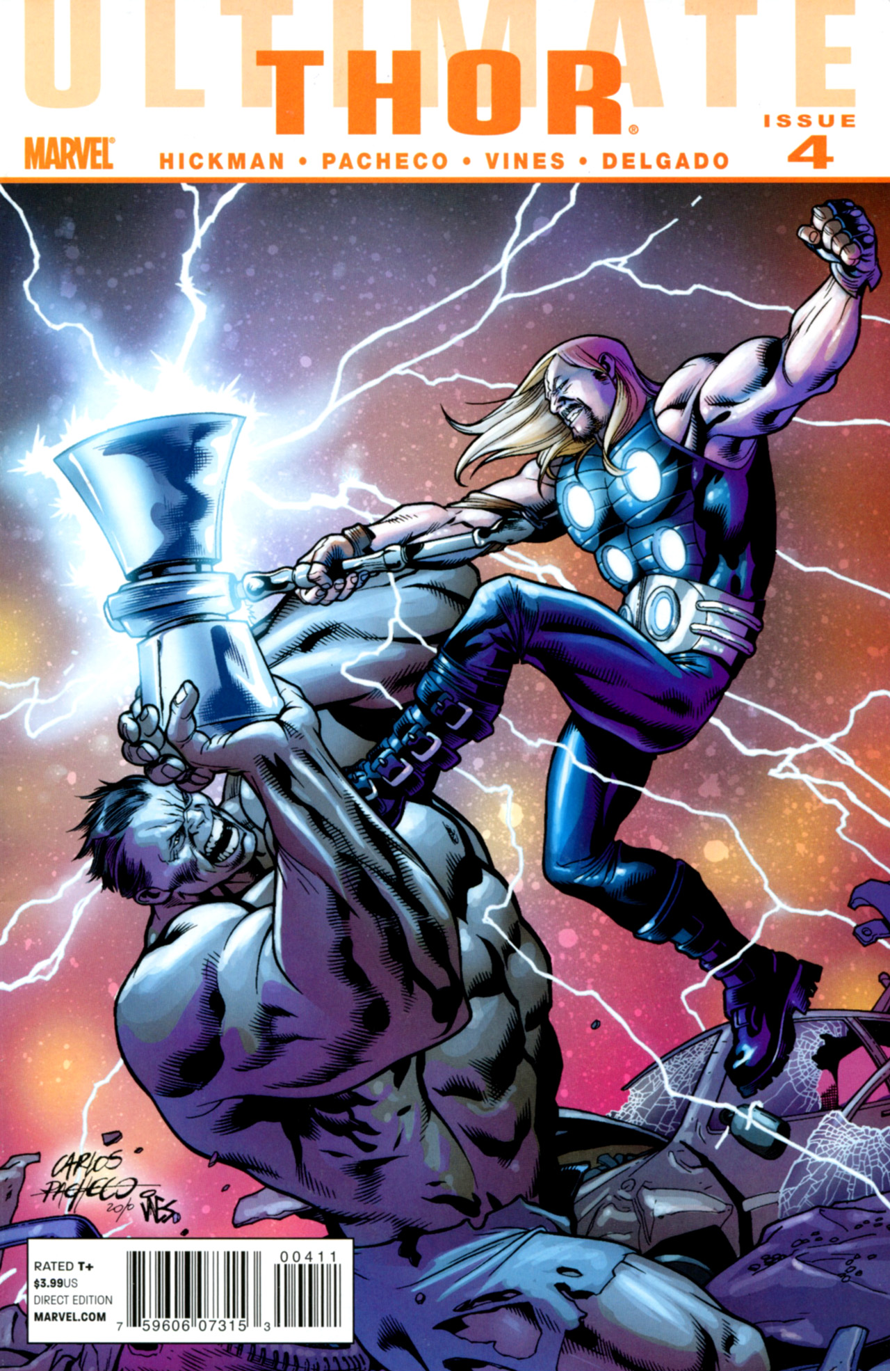 Read online Ultimate Thor comic -  Issue #4 - 1