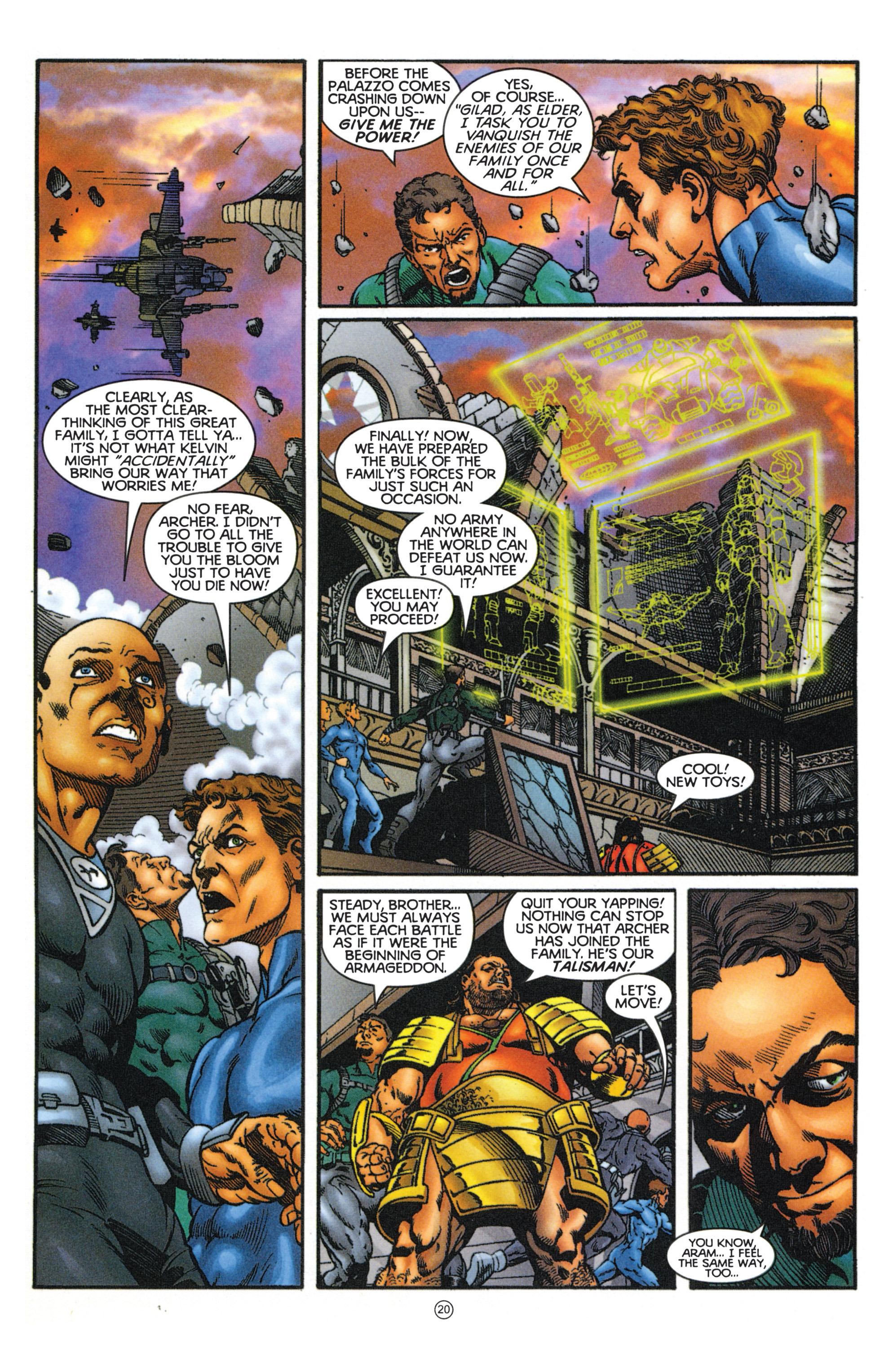 Read online Eternal Warriors comic -  Issue # Issue Mog - 18