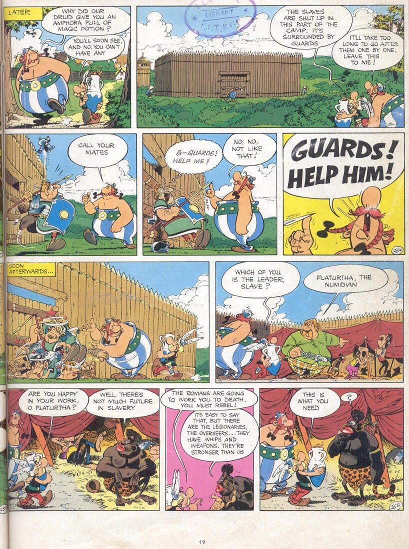 Read online Asterix comic -  Issue #17 - 17