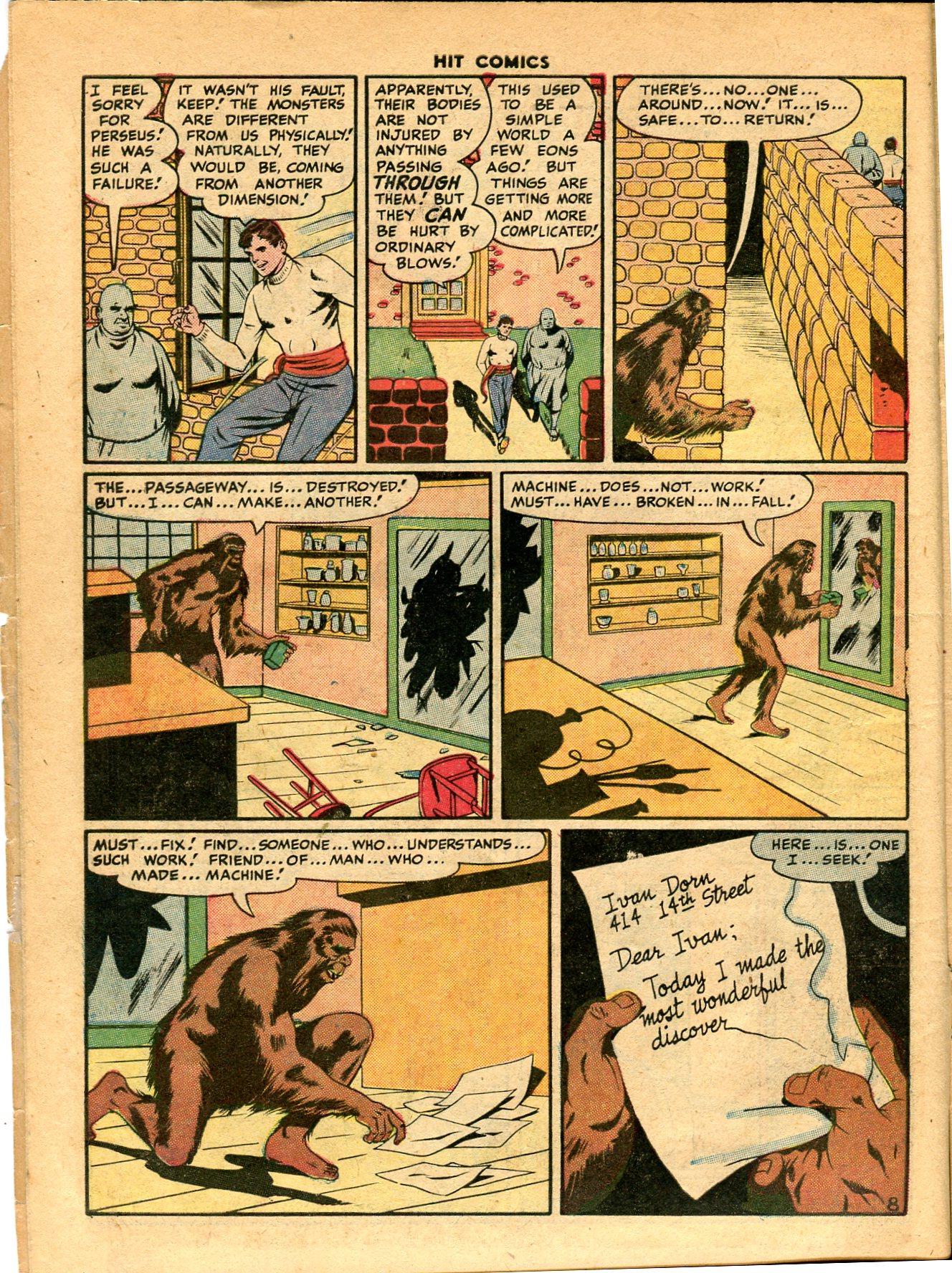 Read online Hit Comics comic -  Issue #49 - 10