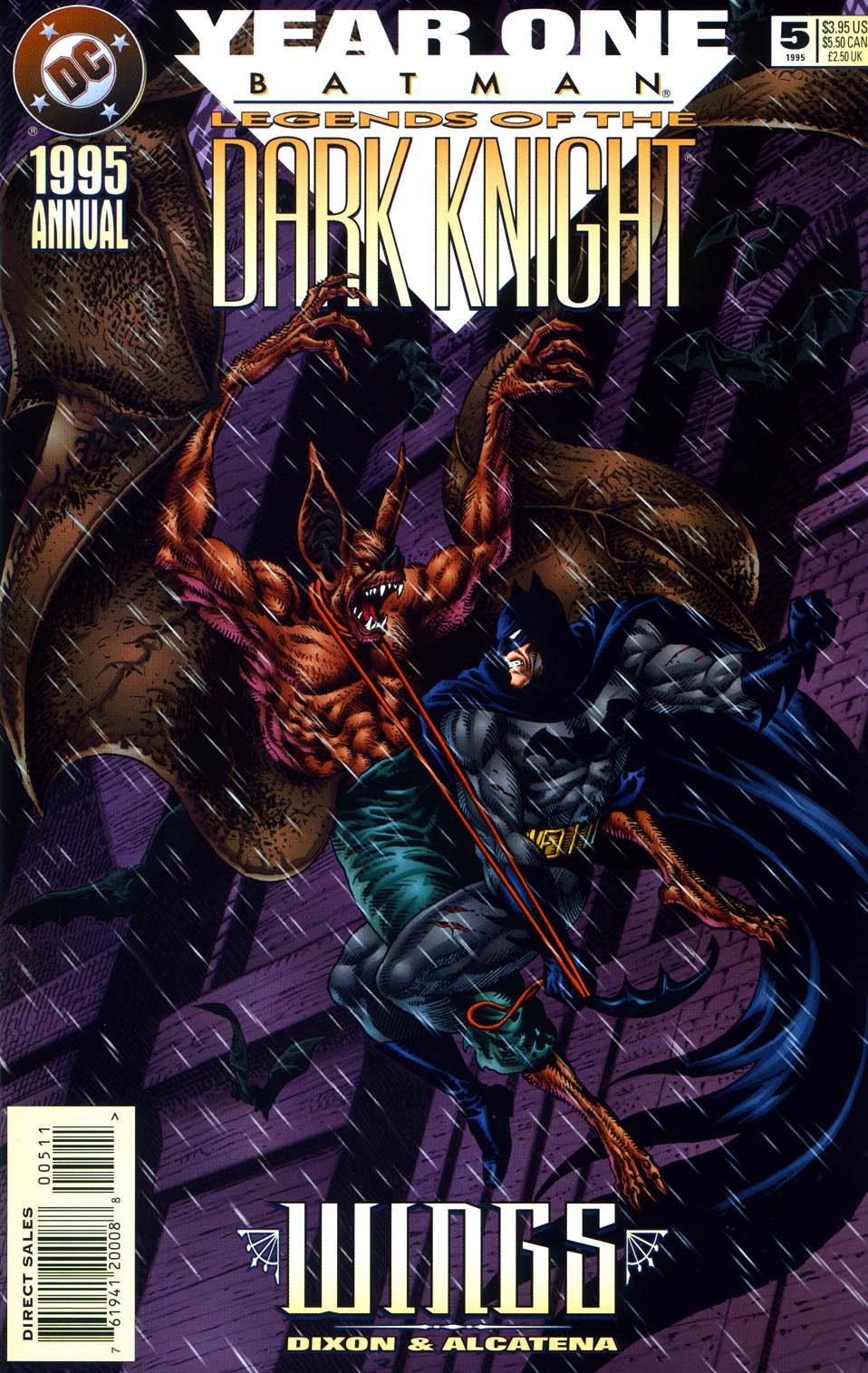 Batman: Legends of the Dark Knight _Annual_5 Page 1