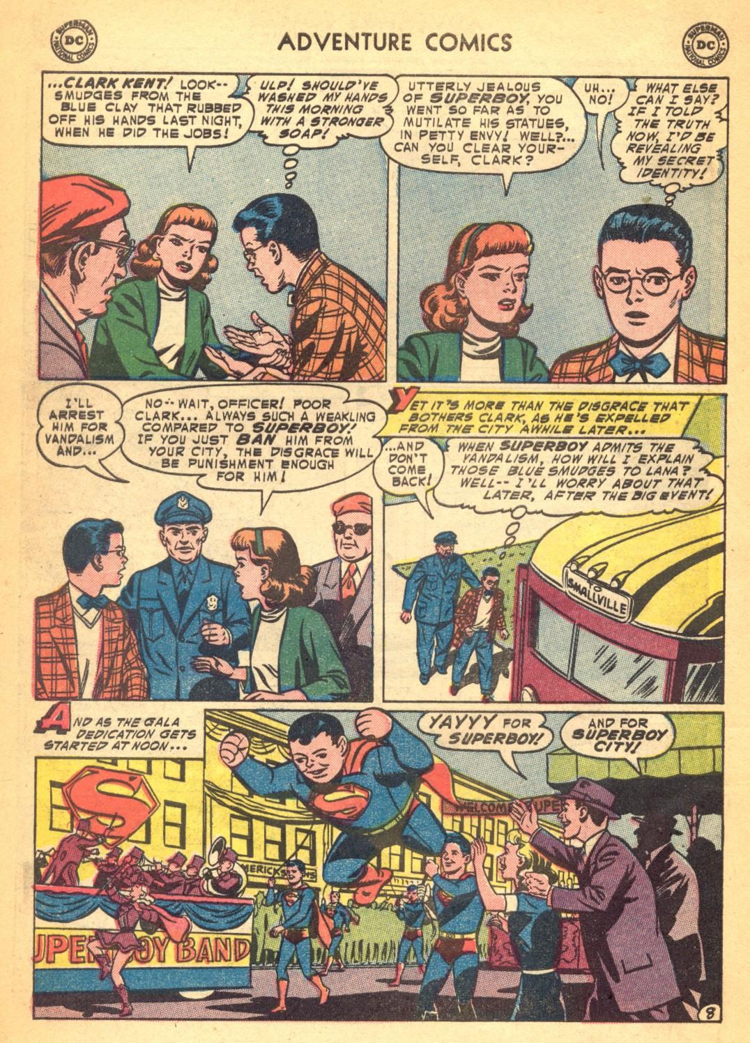 Read online Adventure Comics (1938) comic -  Issue #202 - 10