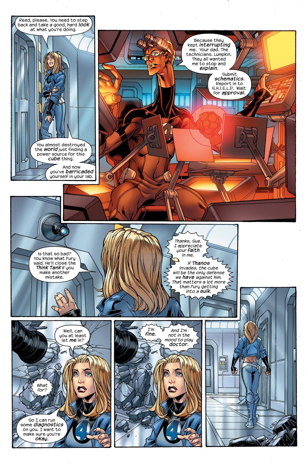 Read online Ultimate Fantastic Four (2004) comic -  Issue #47 - 8