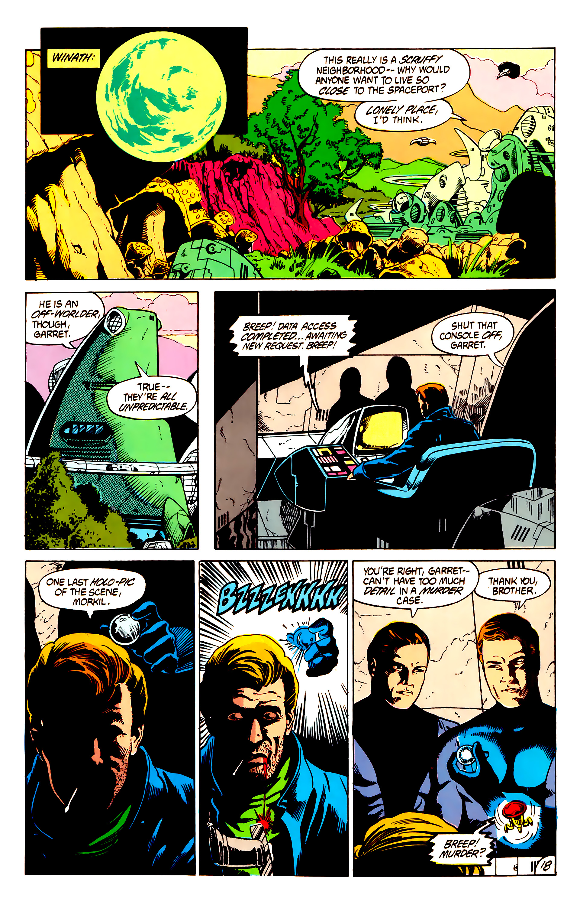 Legion of Super-Heroes (1984) 7 Page 19