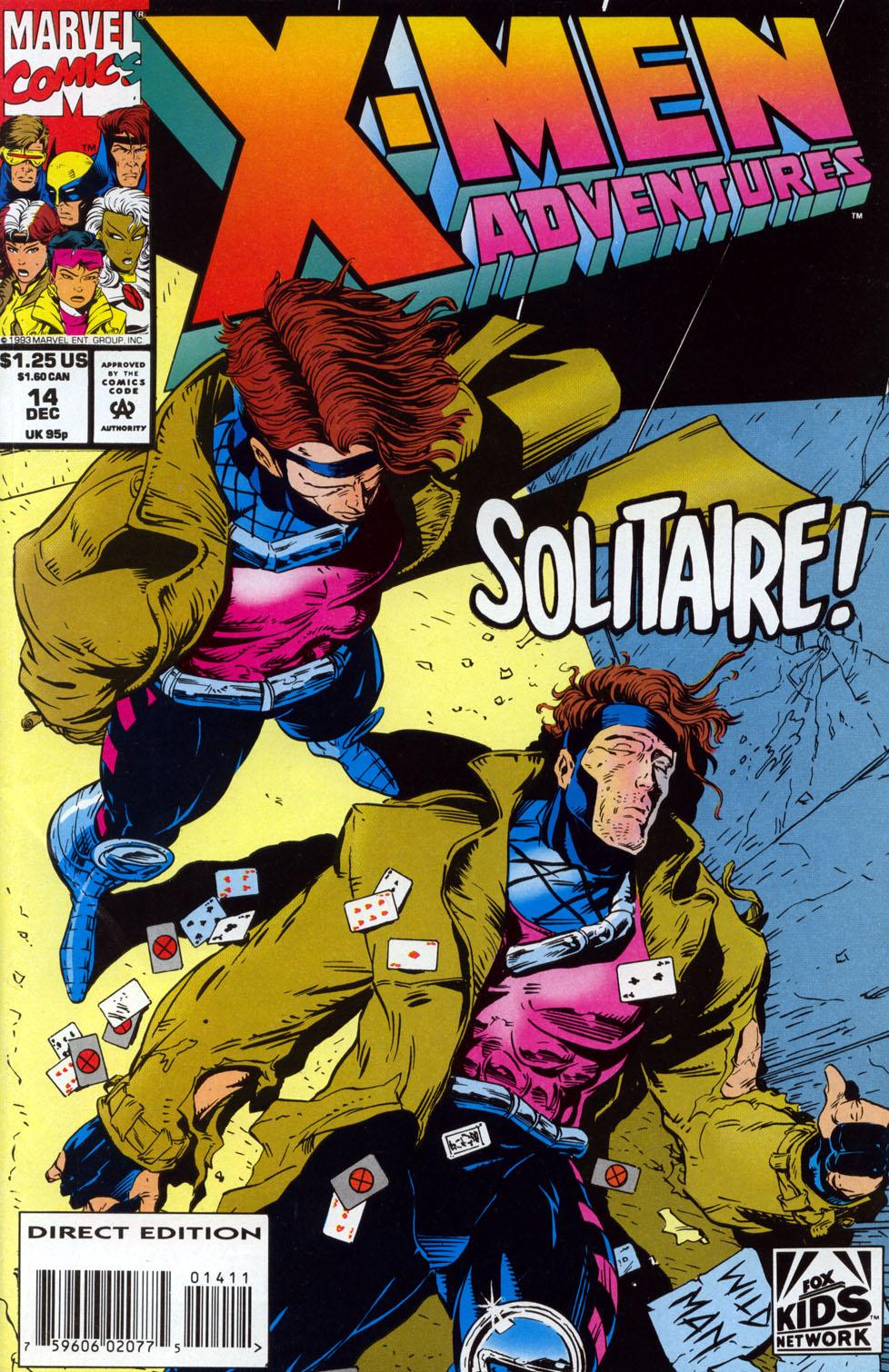 X-Men Adventures (1992) 14 Page 1