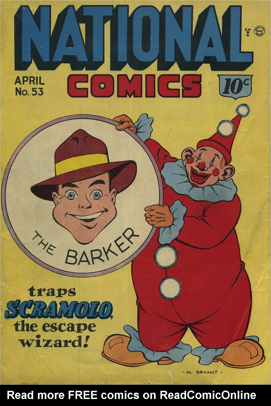 National Comics (1940) issue 53 - Page 1