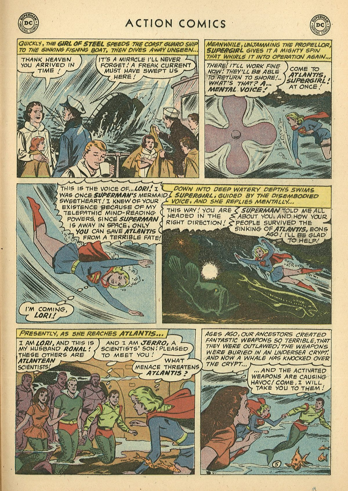 Read online Action Comics (1938) comic -  Issue #269 - 25