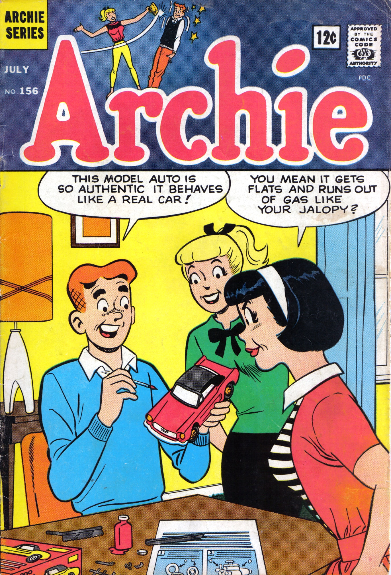 Read online Archie (1960) comic -  Issue #156 - 1
