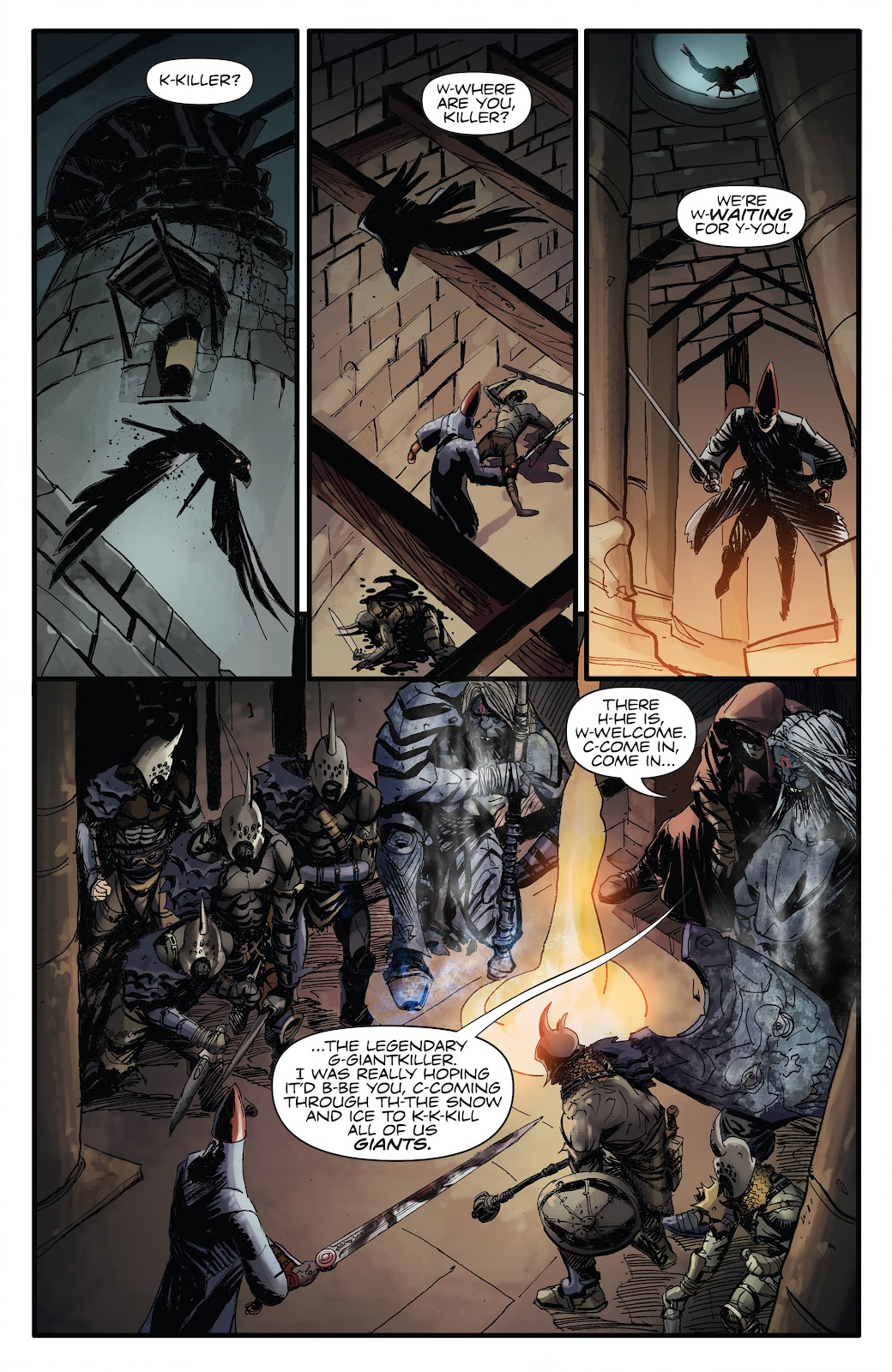 Read online Giantkillers One-Shot comic -  Issue # Full - 9