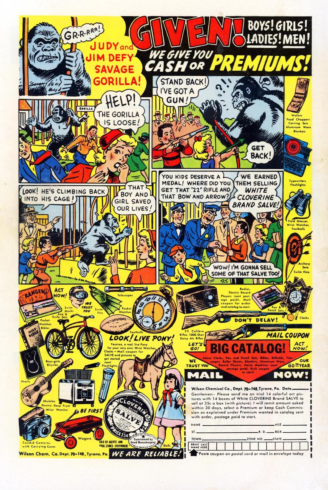 Read online Patsy Walker comic -  Issue #58 - 36