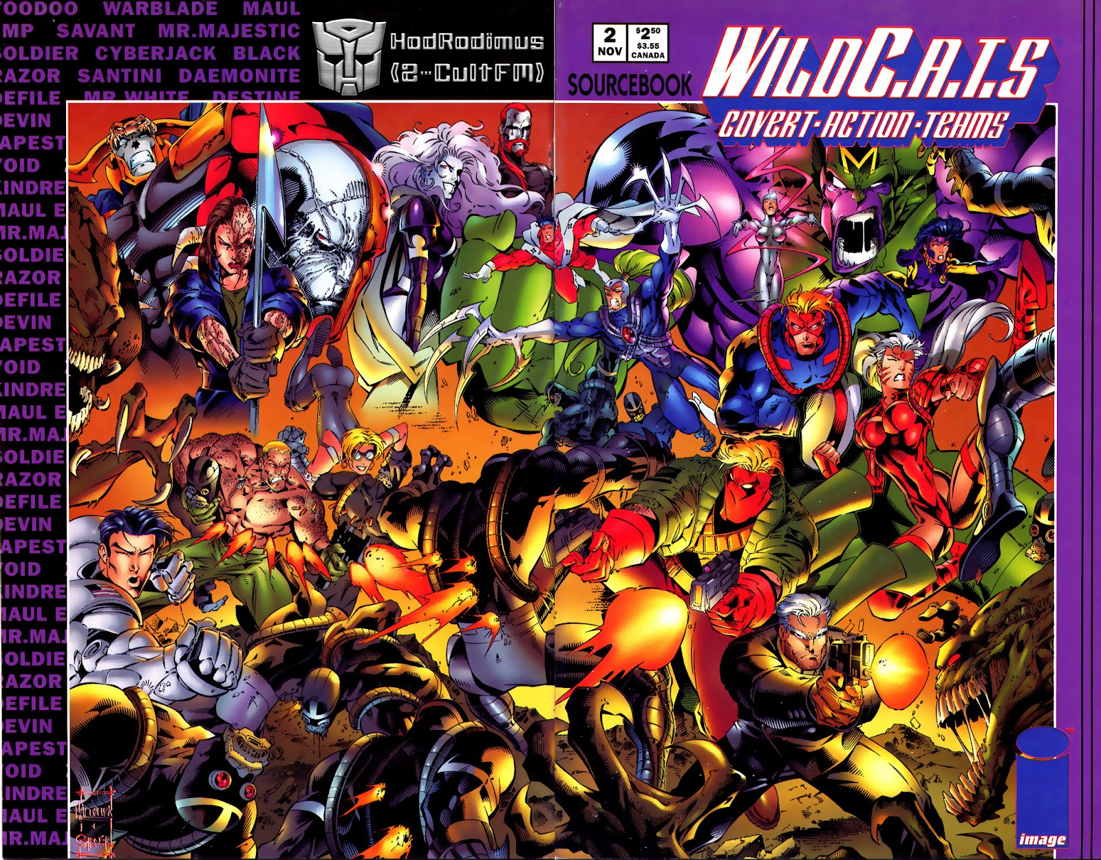 WildC.A.T.s Sourcebook 2 Page 1