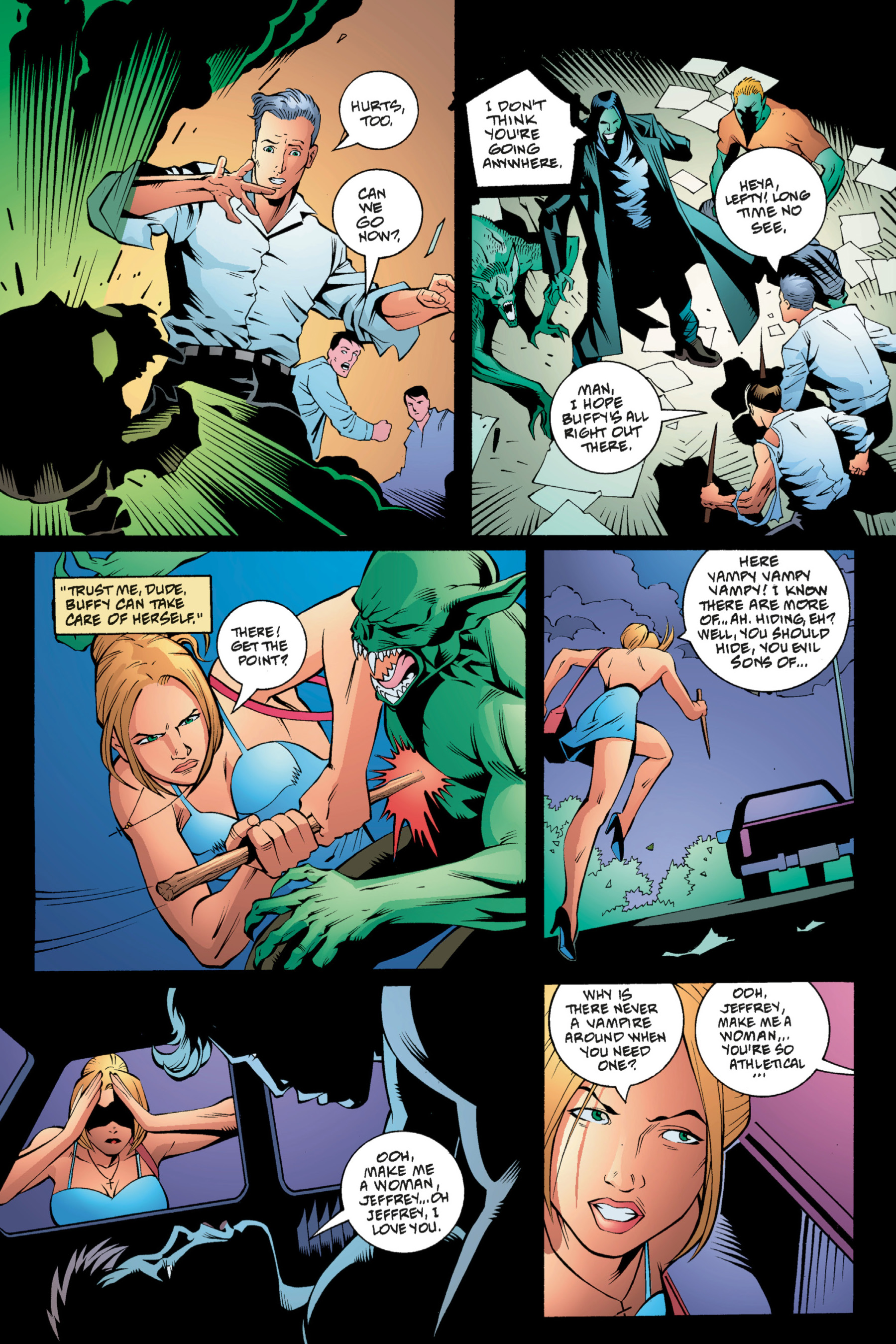 Read online Buffy the Vampire Slayer: Omnibus comic -  Issue # TPB 1 - 94