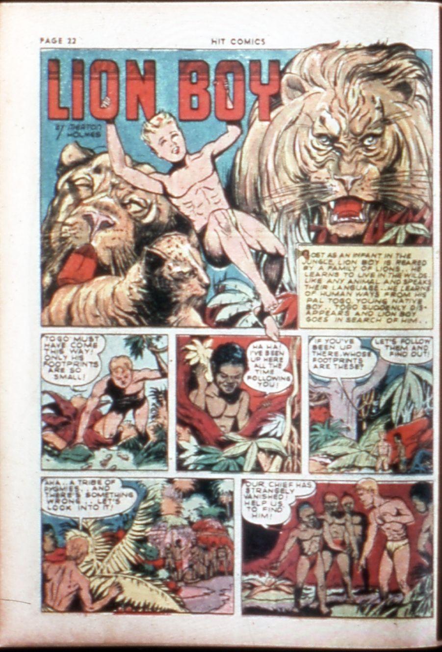 Read online Hit Comics comic -  Issue #14 - 24