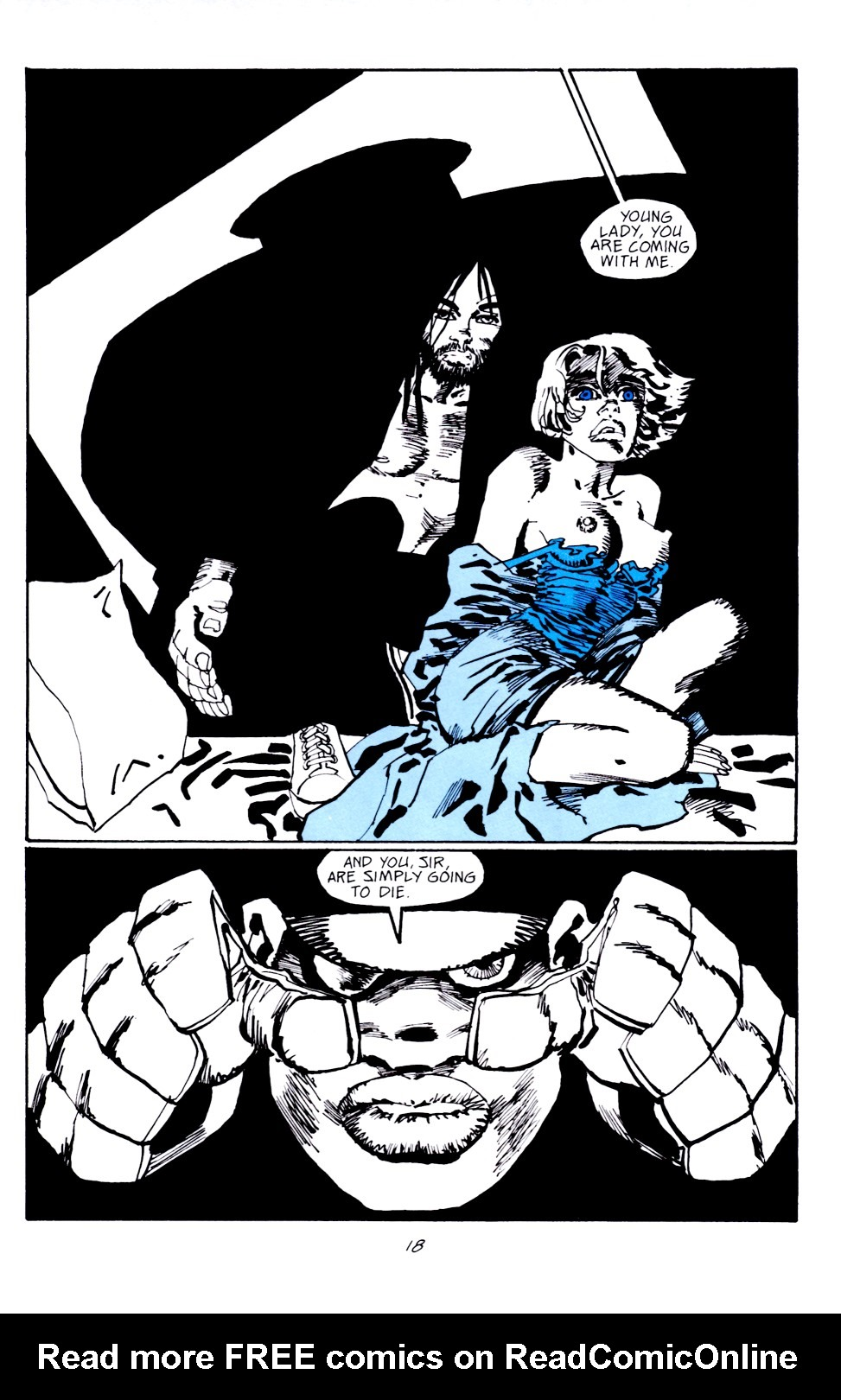 Read online Sin City: Hell and Back comic -  Issue #4 - 19