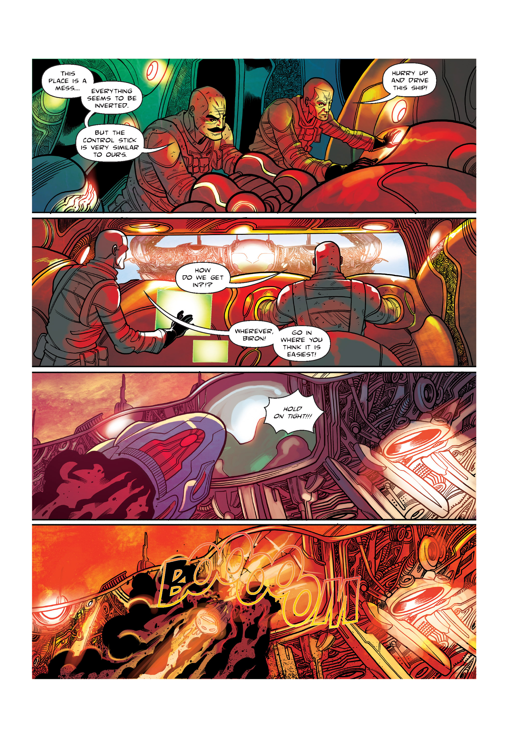 Read online The Shadow of a Terrible Thing comic -  Issue # TPB - 120