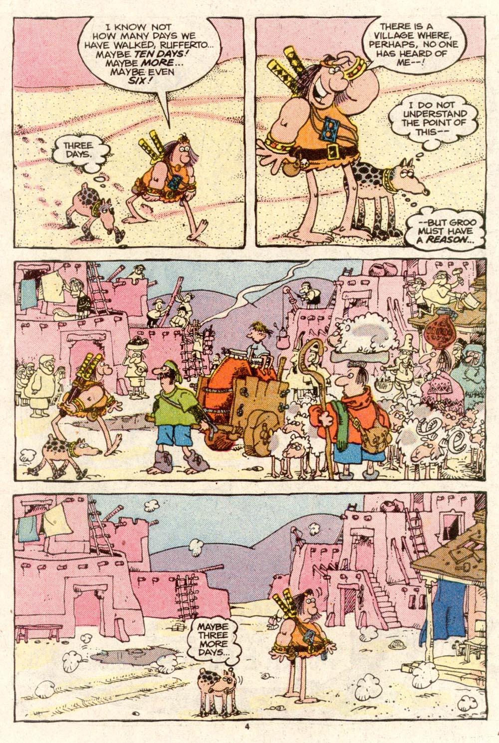 Read online Sergio Aragonés Groo the Wanderer comic -  Issue #48 - 4