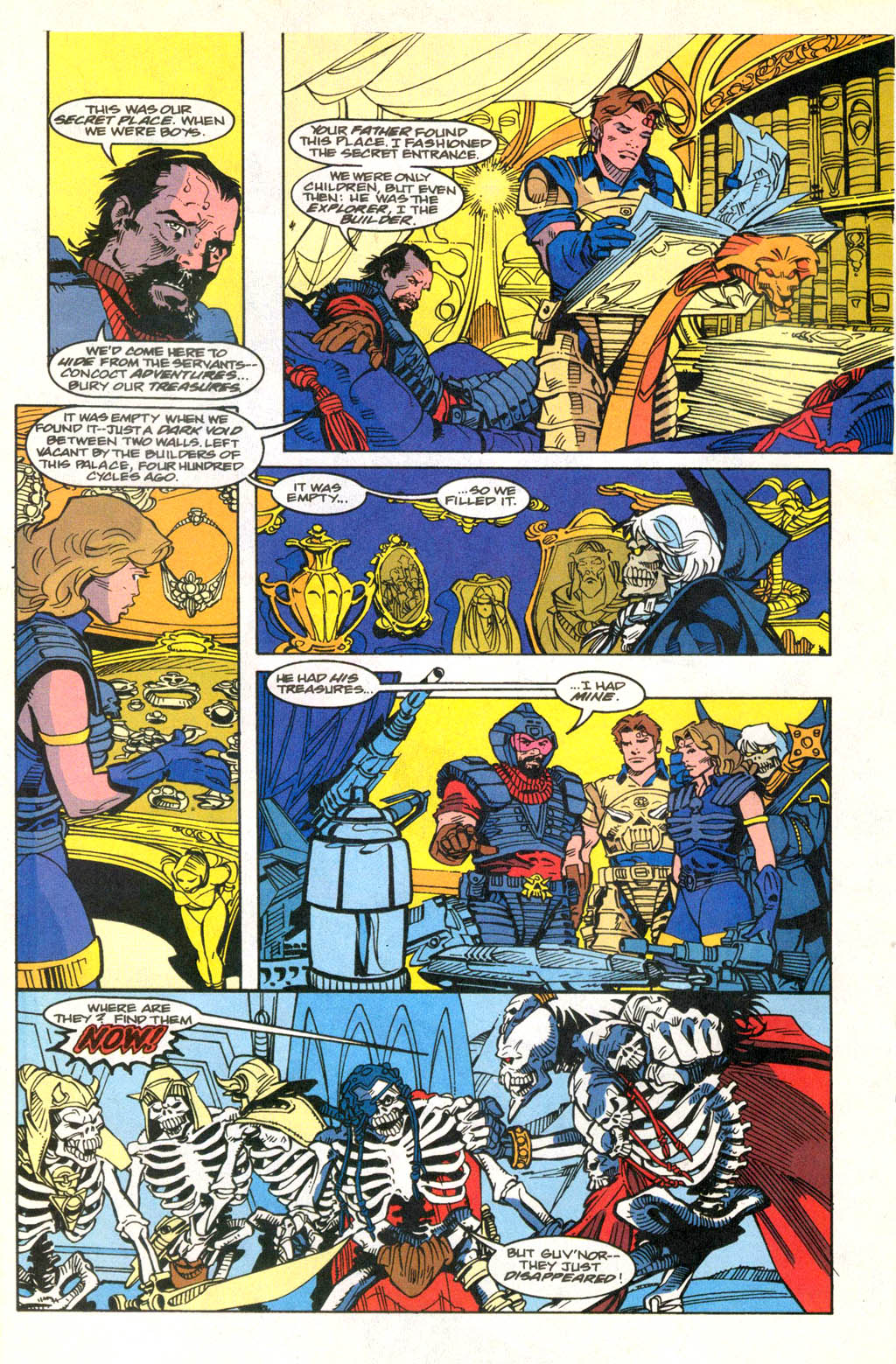 Skeleton Warriors Issue #2 #2 - English 14