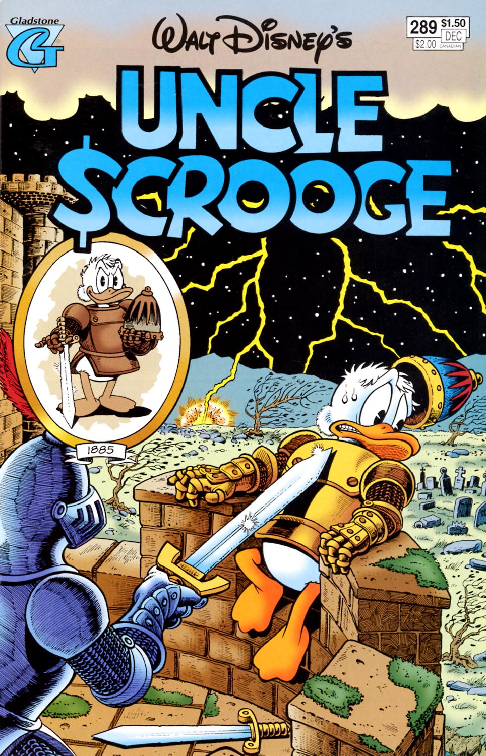 Read online Uncle Scrooge (1953) comic -  Issue #289 - 1