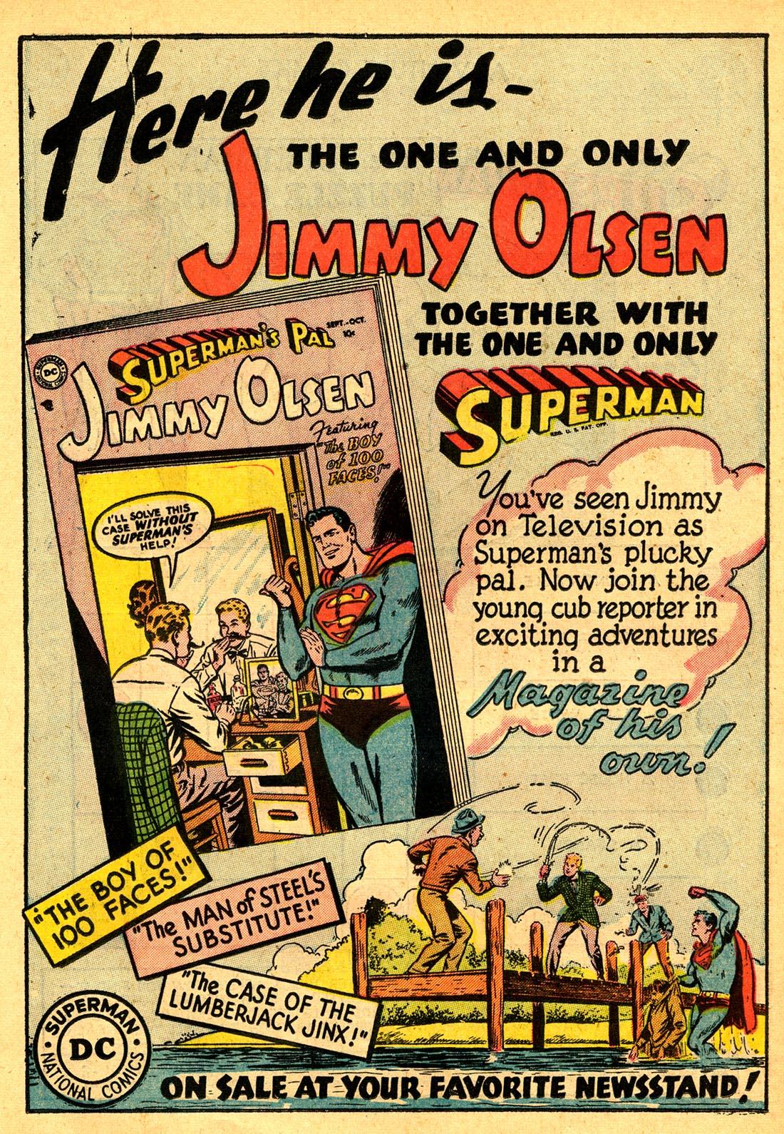 Read online Adventure Comics (1938) comic -  Issue #204 - 23