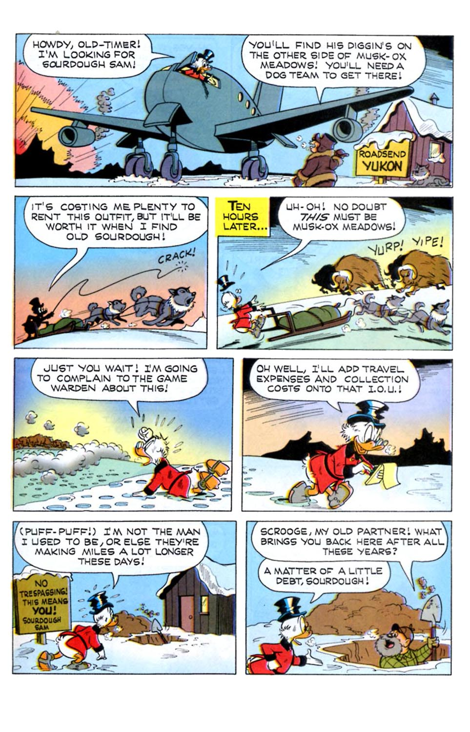 Read online Uncle Scrooge (1953) comic -  Issue #289 - 21