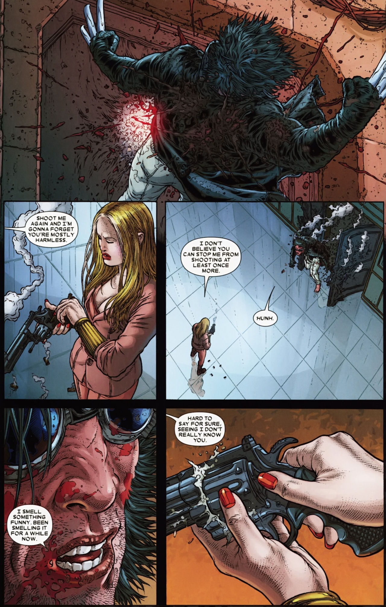 Read online Wolverine: The Best There Is comic -  Issue #6 - 14