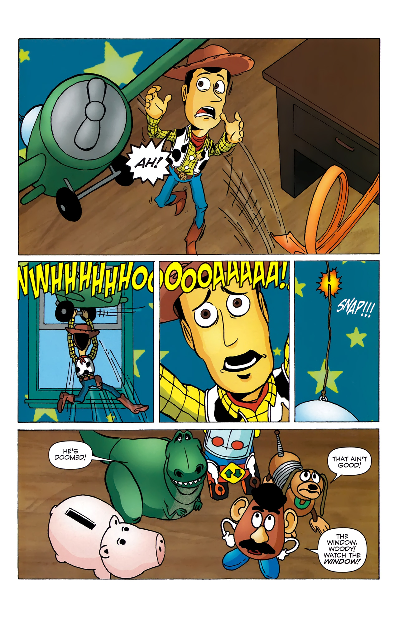 Read online Toy Story (2009) comic -  Issue #4 - 22