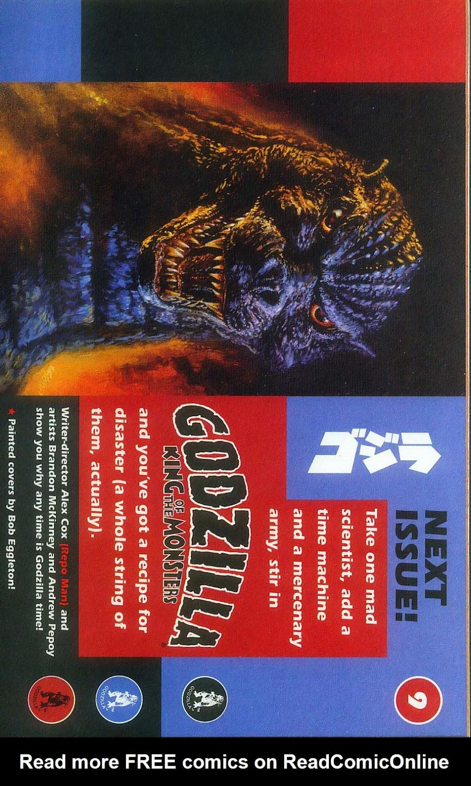 Godzilla (1995) Issue #8 #9 - English 29