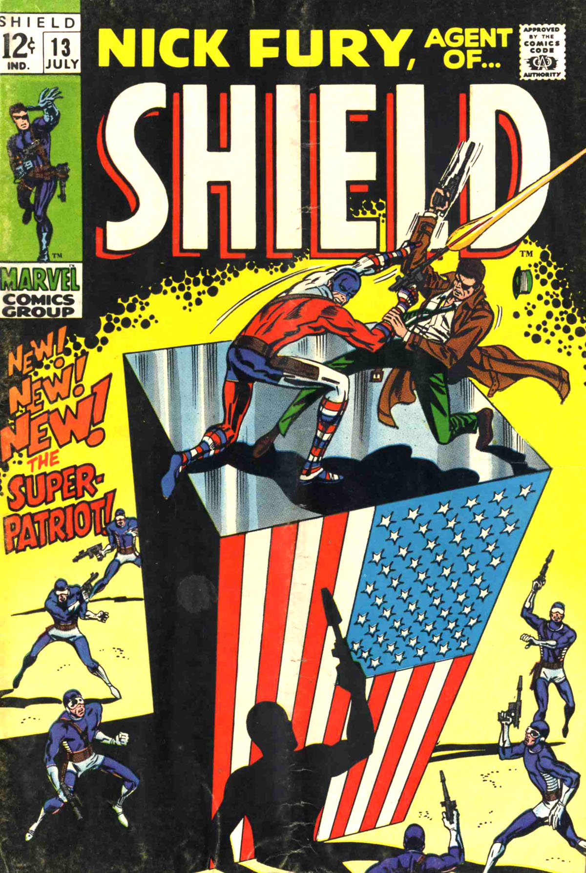Nick Fury, Agent of SHIELD 13 Page 1