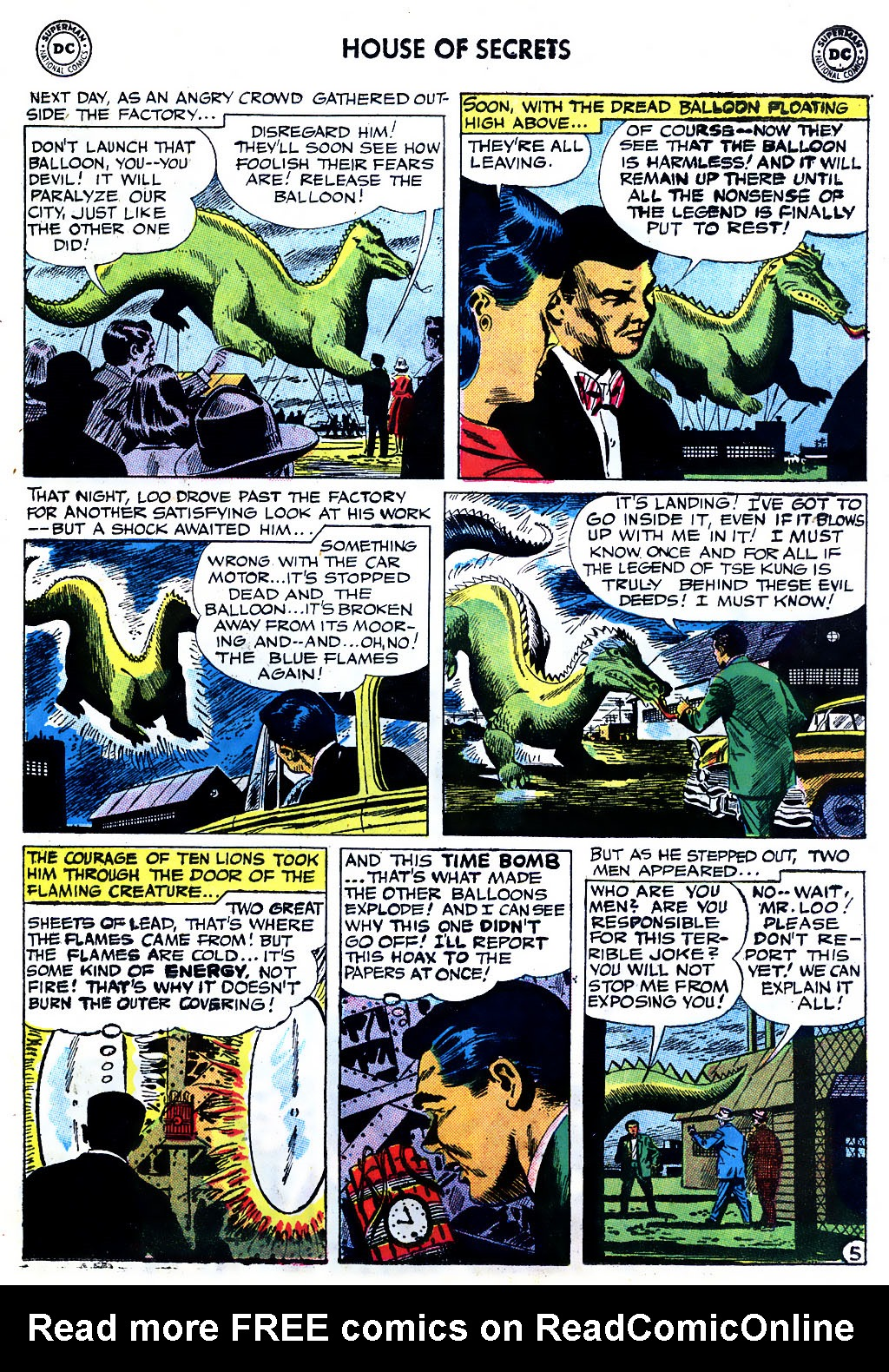 Comic House of Secrets (1956) issue 9