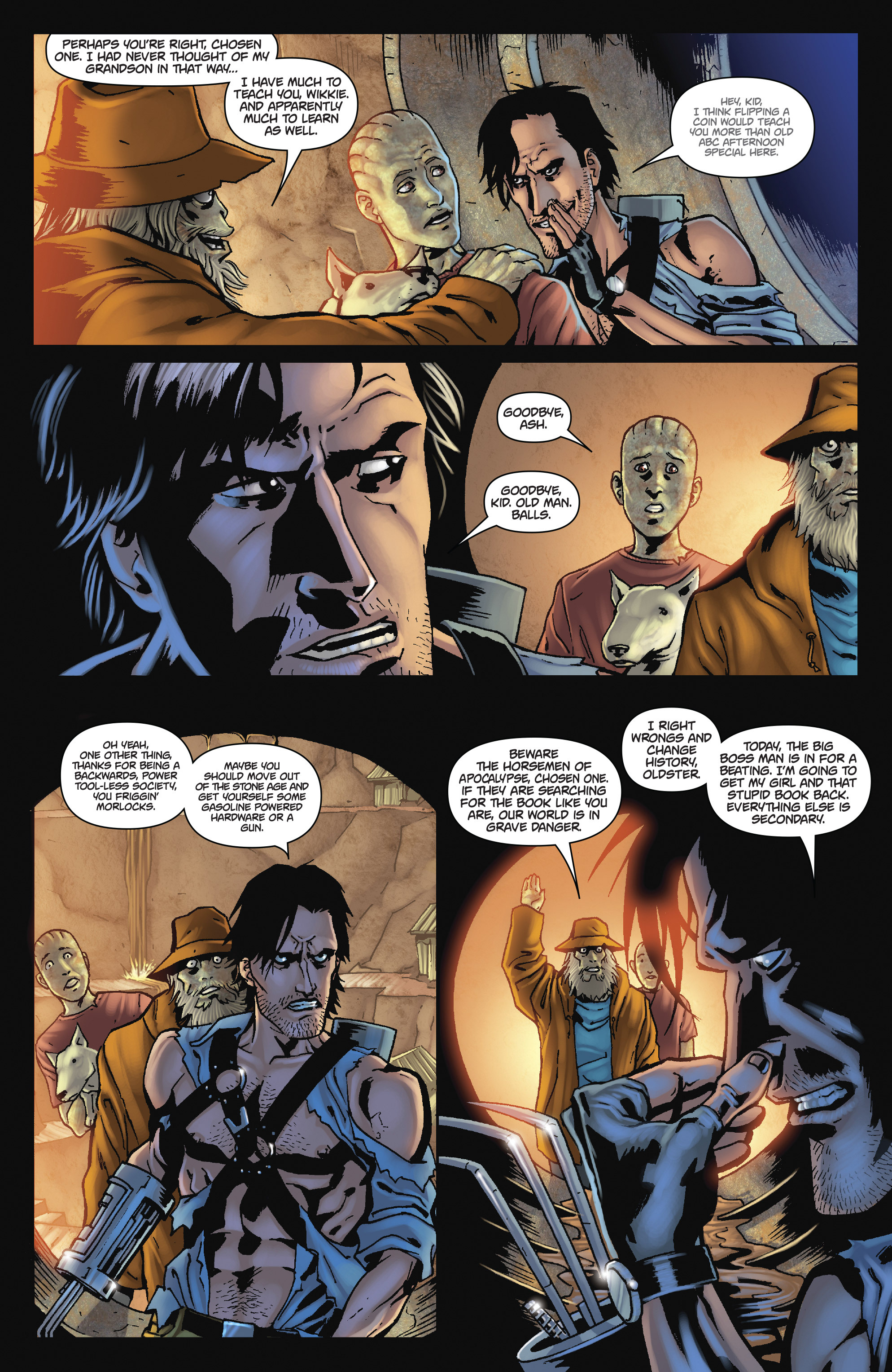 Read online Army of Darkness: The Long Road Home comic -  Issue #Army of Darkness: The Long Road Home TPB - 84