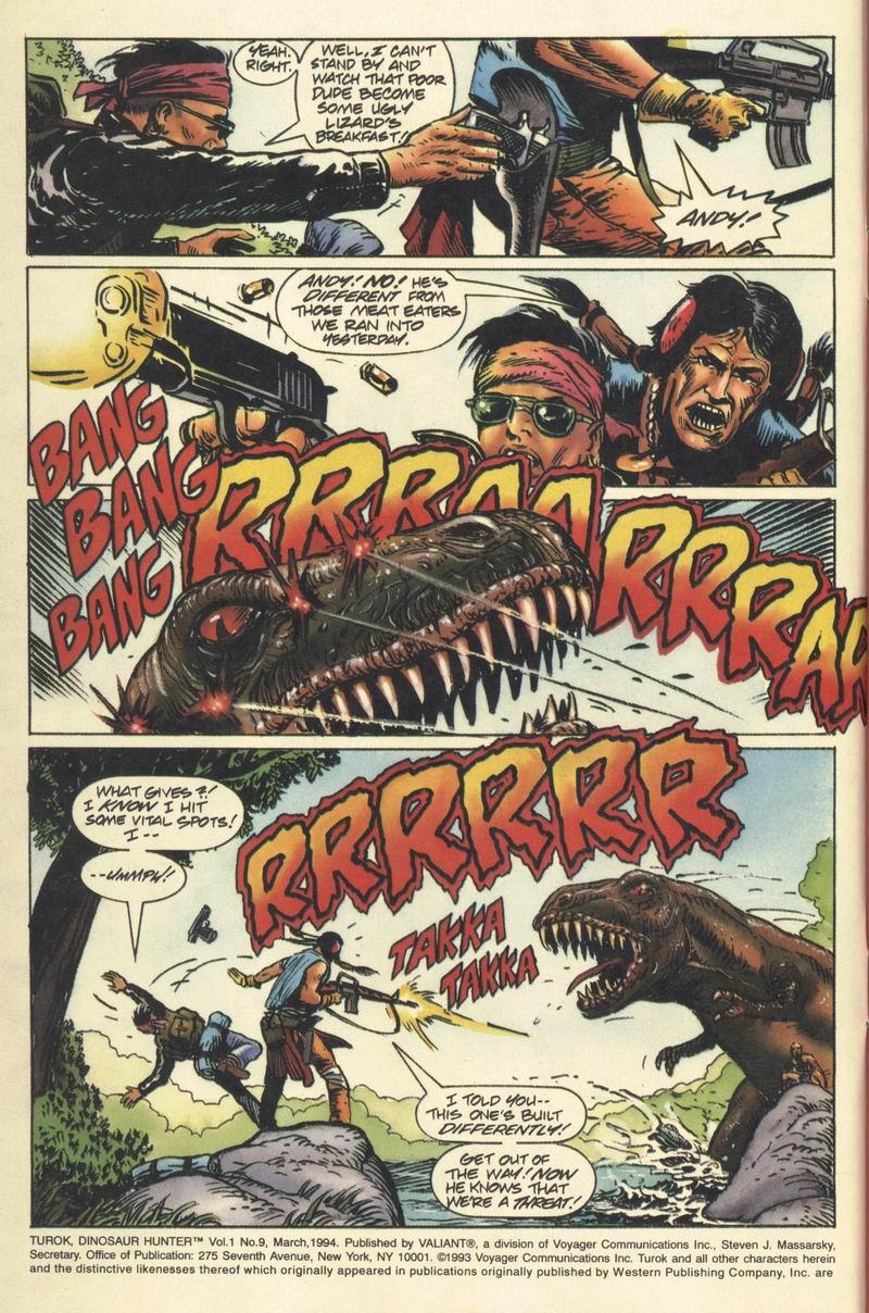 Read online Turok, Dinosaur Hunter (1993) comic -  Issue #9 - 4