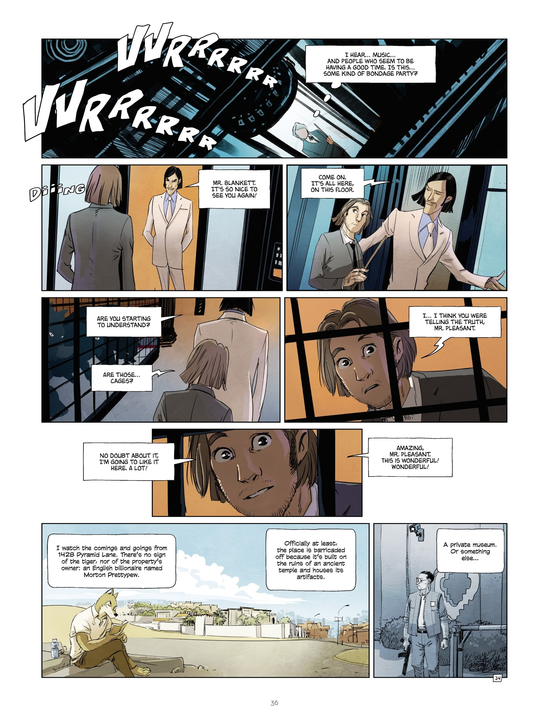 Read online Jack Wolfgang comic -  Issue #3 - 38