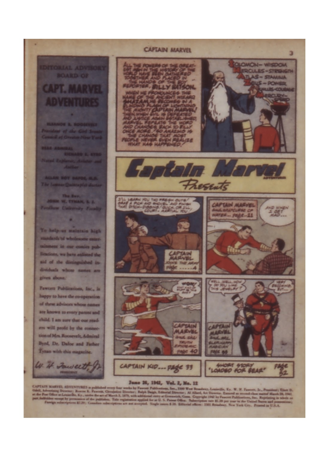 Captain Marvel Adventures issue 12 - Page 3