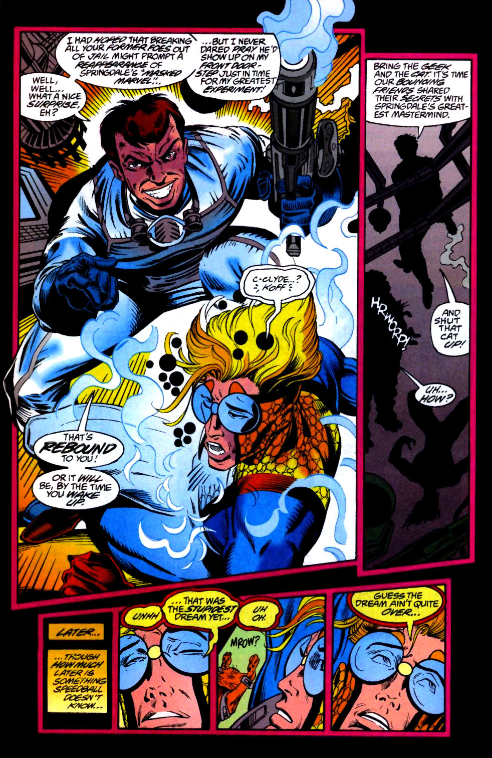 The New Warriors Issue #66 #70 - English 18