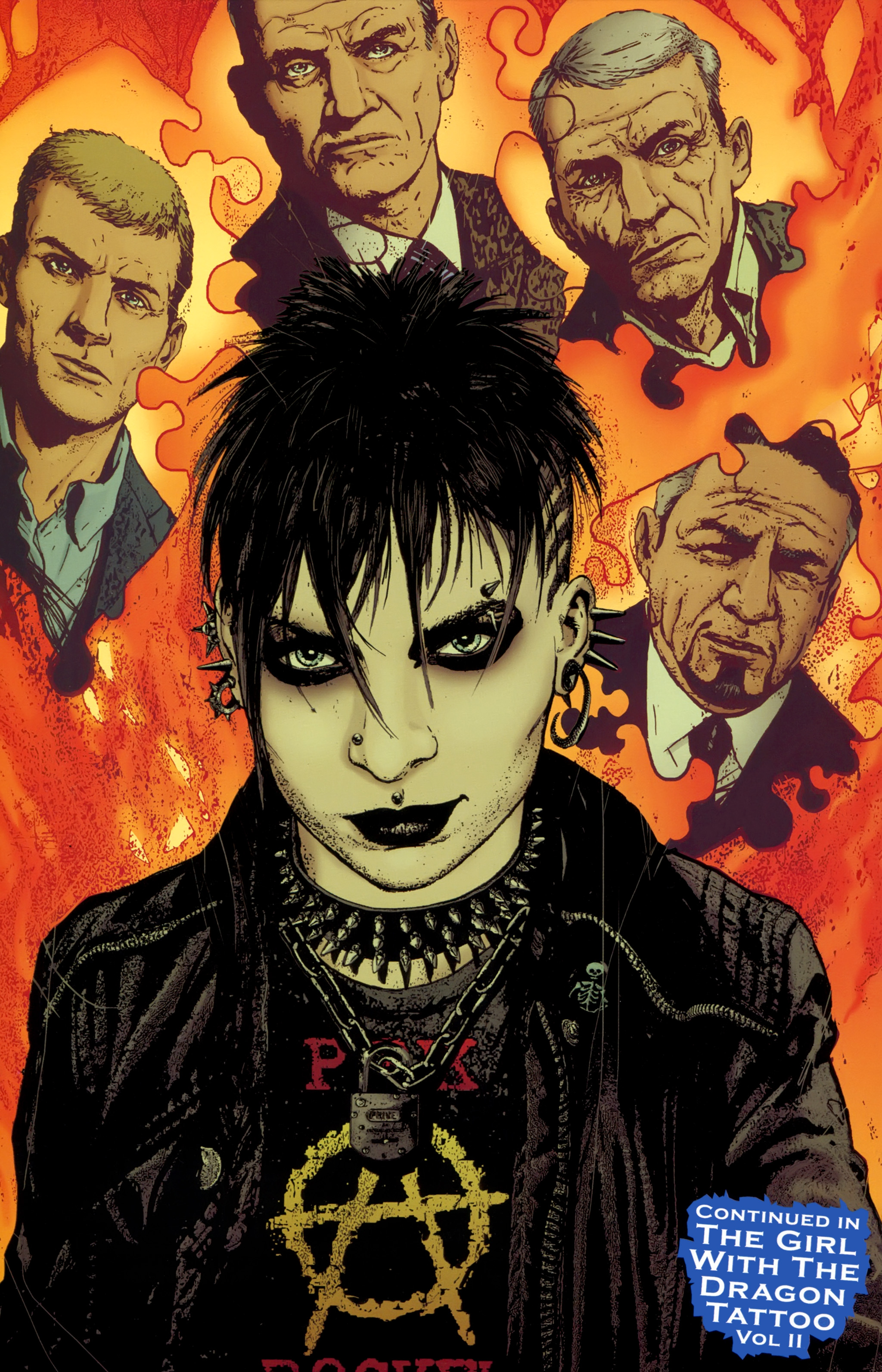 Read online The Girl With the Dragon Tattoo comic -  Issue # TPB 1 - 149