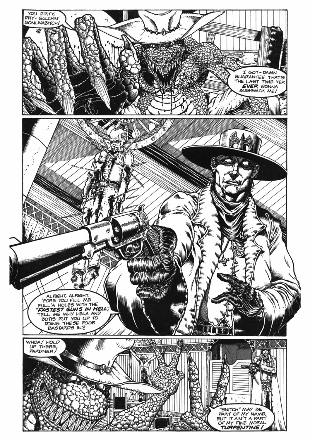 Read online Gunfighters in Hell comic -  Issue #2 - 9