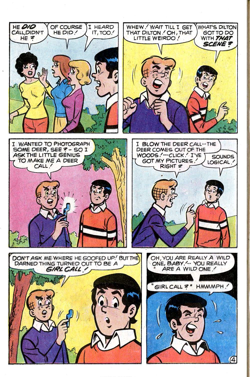 Read online Archie (1960) comic -  Issue #255 - 6