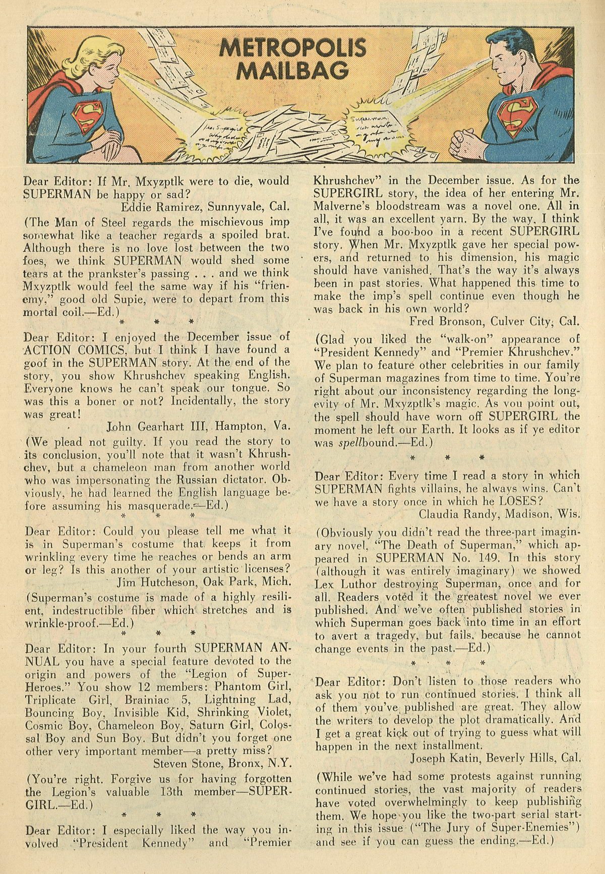 Read online Action Comics (1938) comic -  Issue #286 - 18