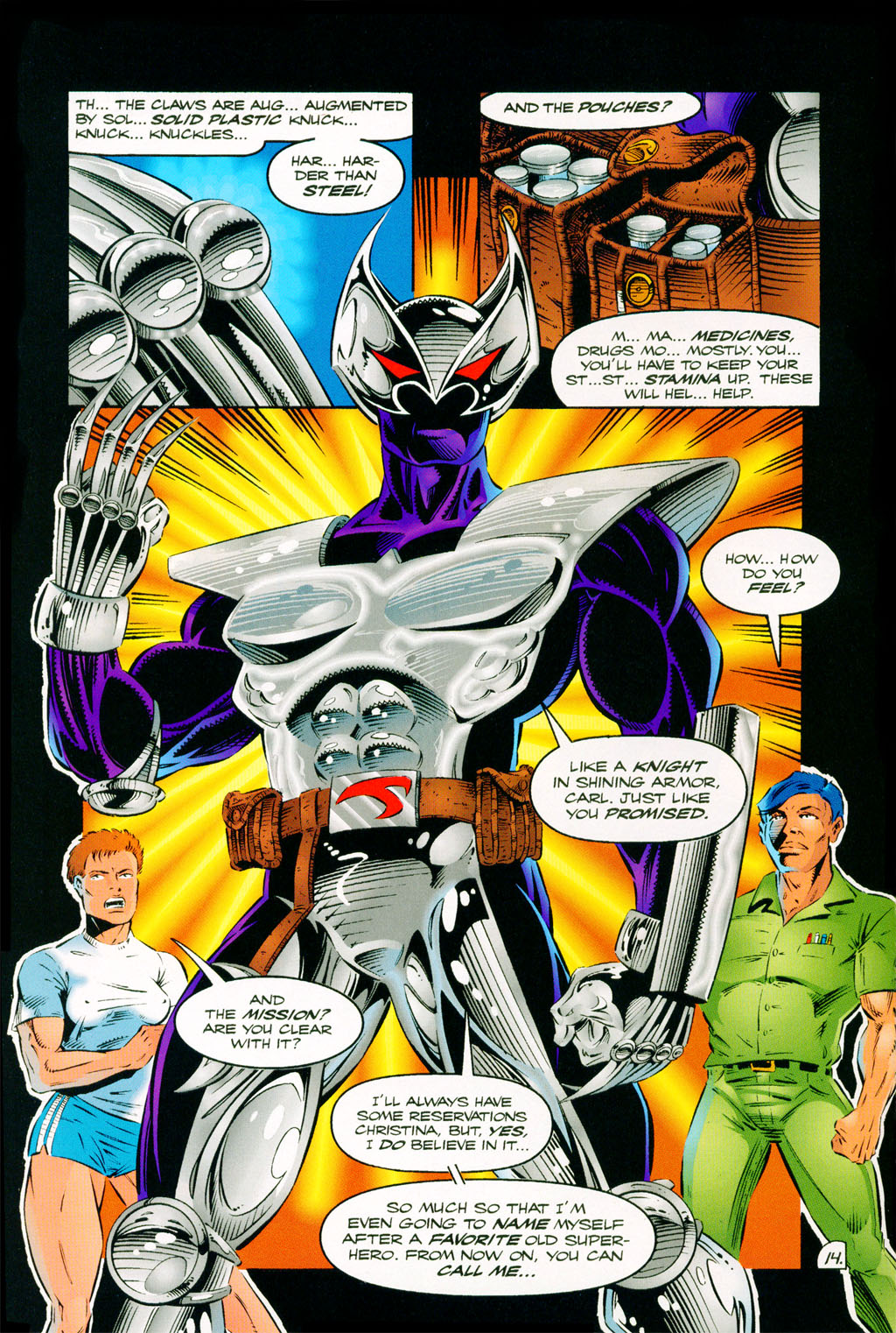 Read online ShadowHawk comic -  Issue #11 - 12