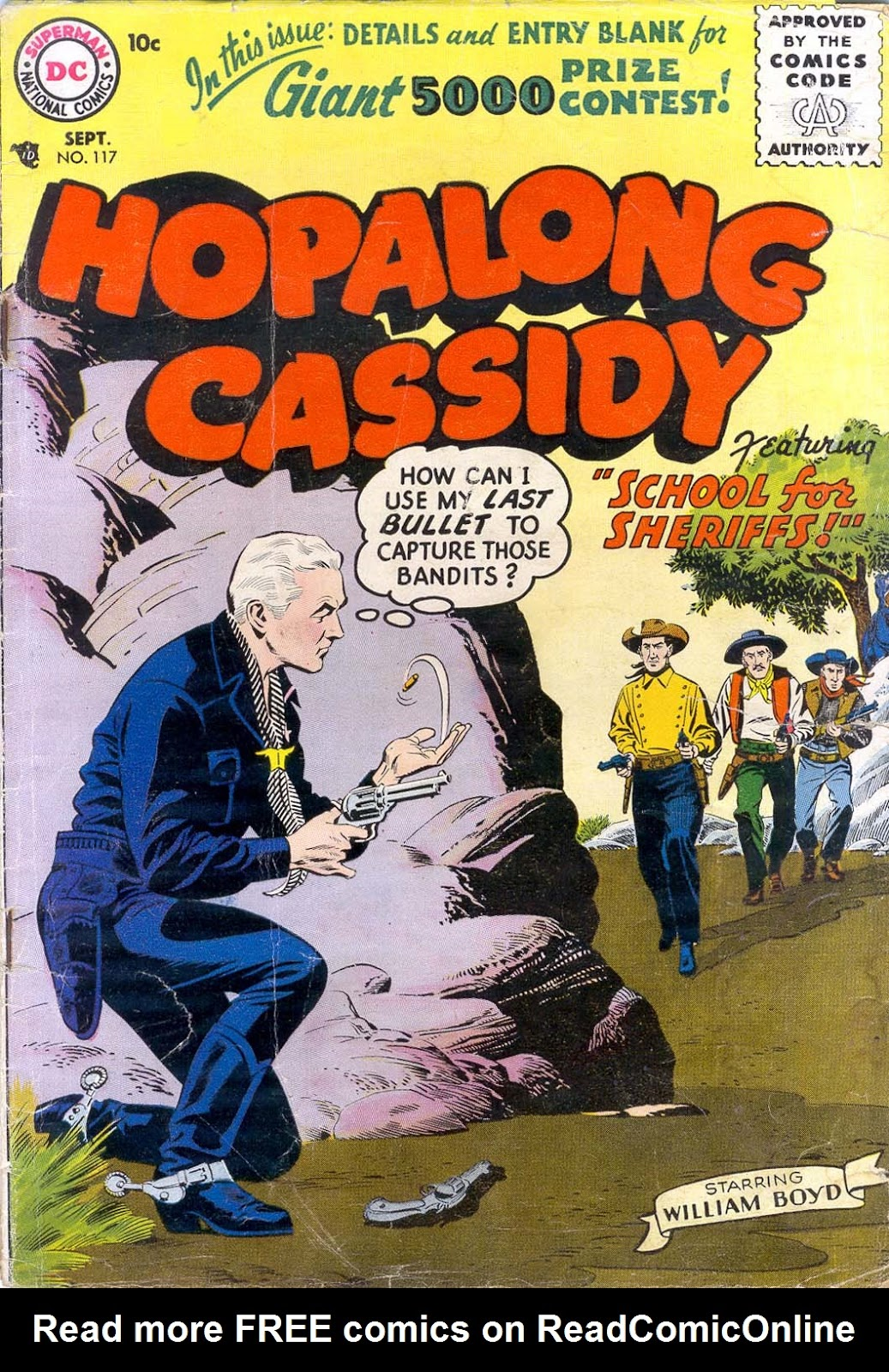Hopalong Cassidy issue 117 - Page 1