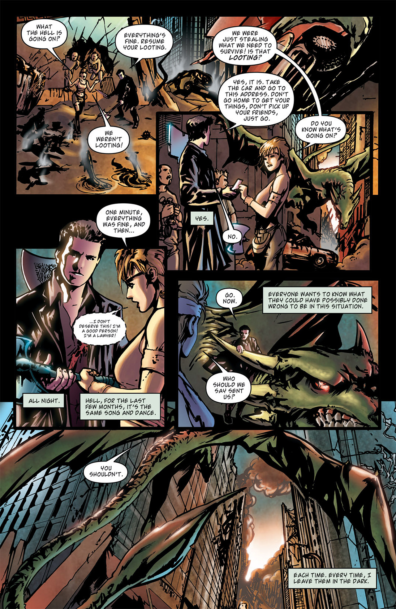 Read online Angel: After The Fall comic -  Issue #1 - 6