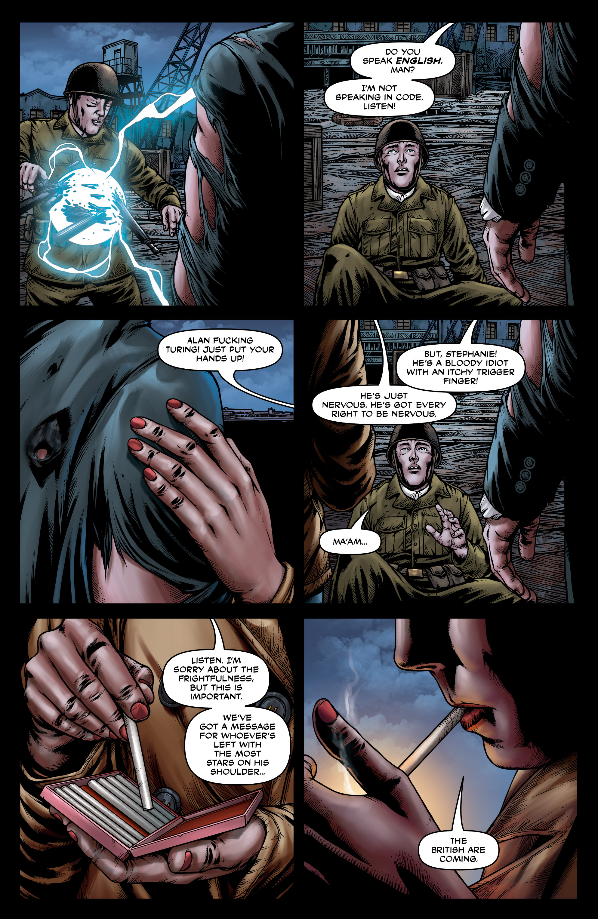 Read online Uber: Invasion comic -  Issue #3 - 23