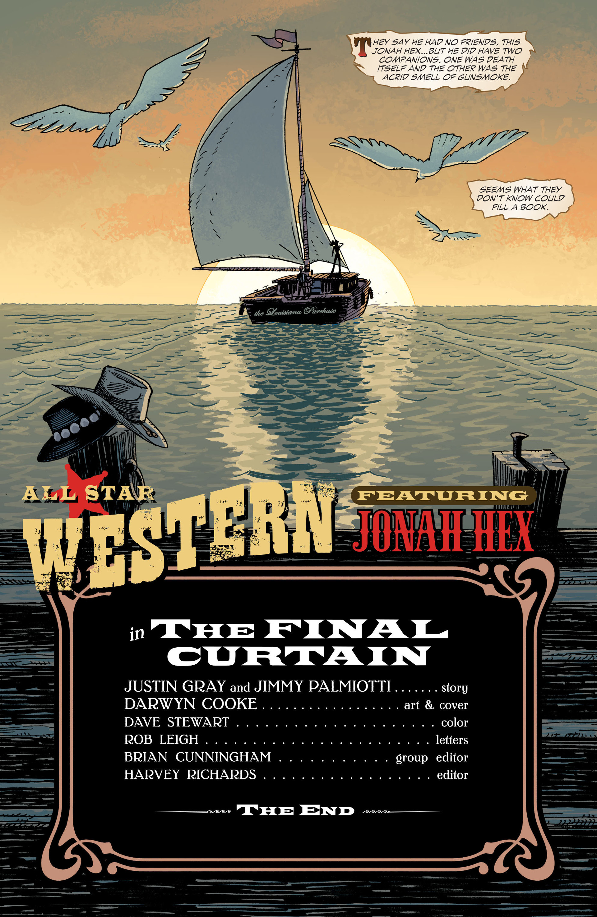 Read online All-Star Western (2011) comic -  Issue #34 - 22