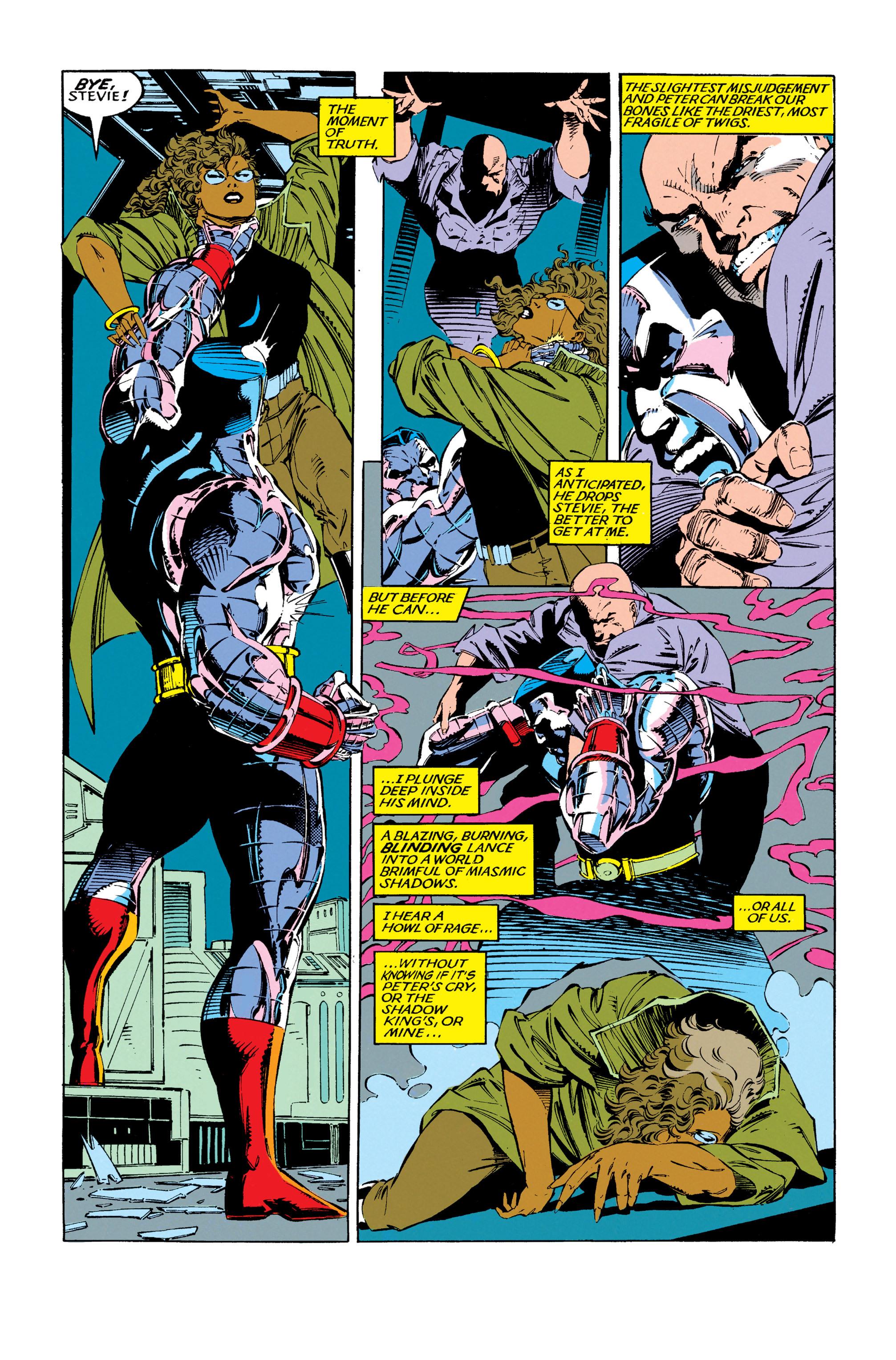 Read online Uncanny X-Men (1963) comic -  Issue #279 - 10