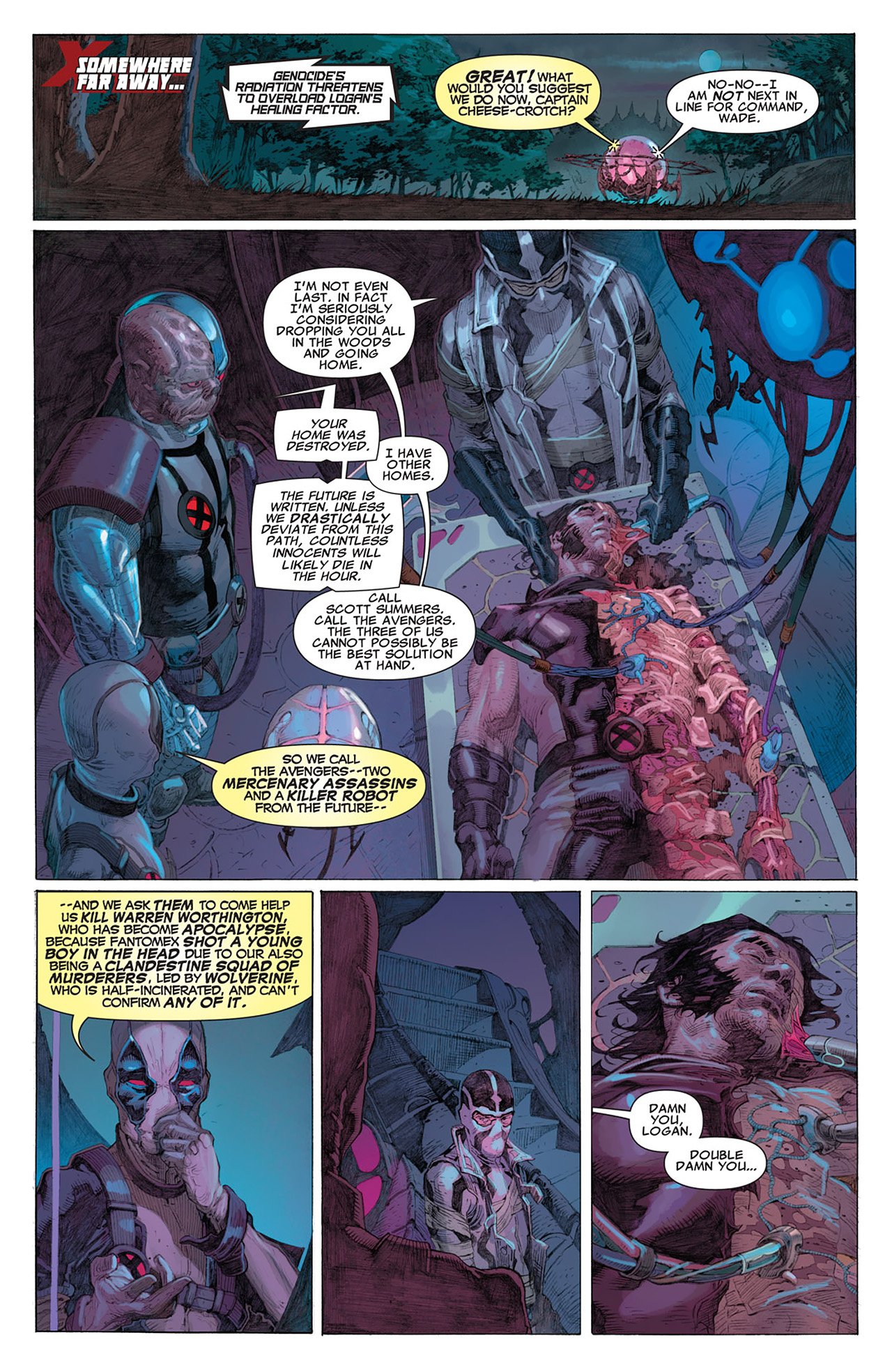 Read online Uncanny X-Force (2010) comic -  Issue #14 - 15