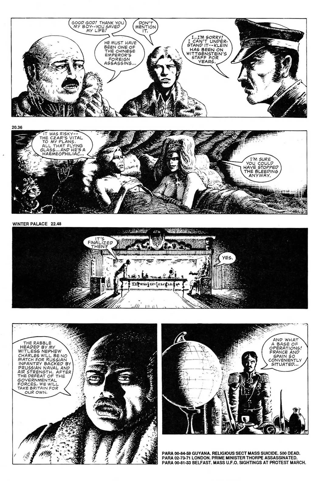 Read online The Adventures of Luther Arkwright comic -  Issue #2 - 13